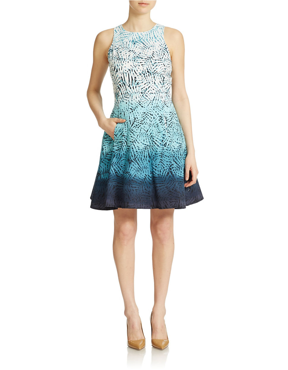 Maggy London Ombre Dress