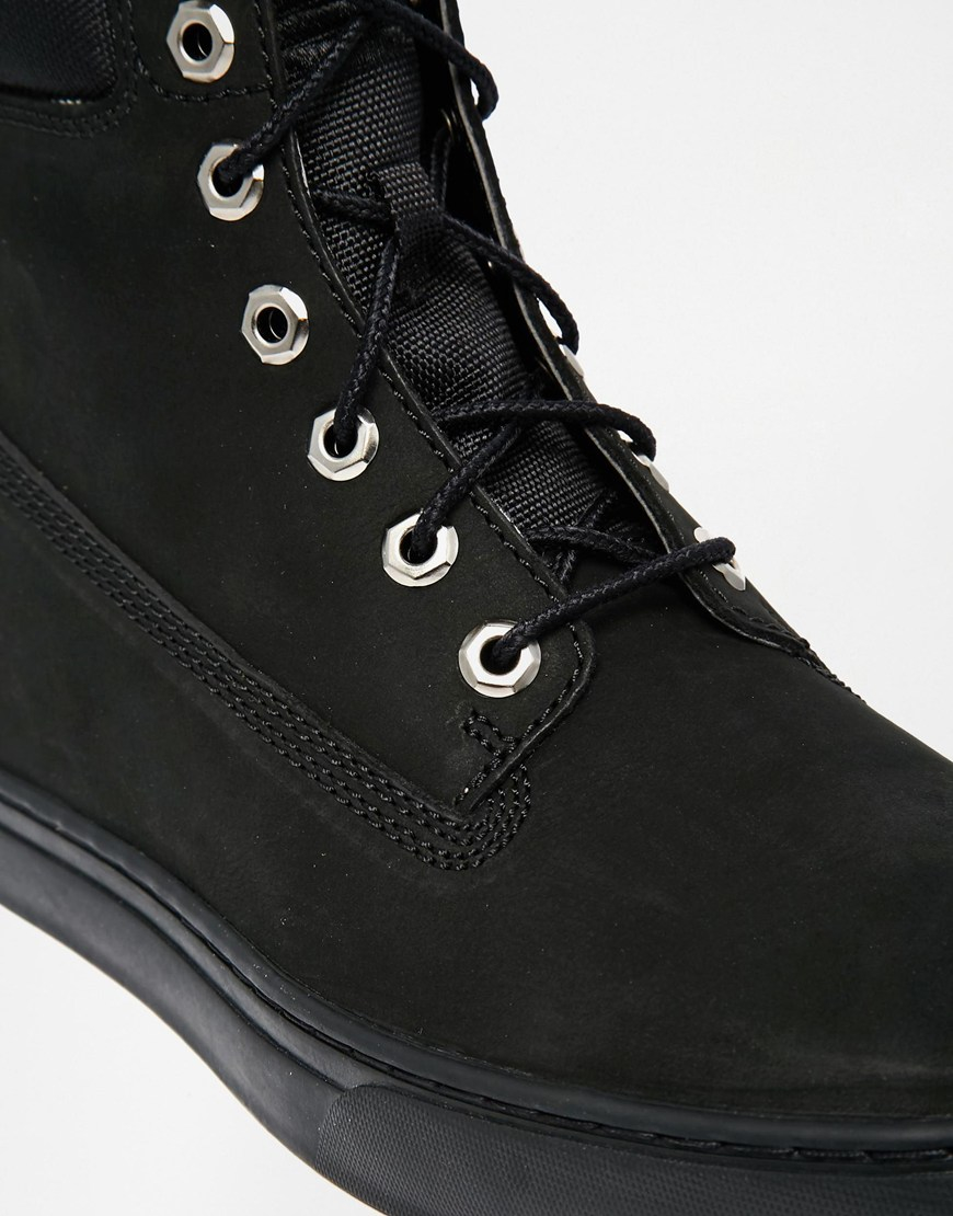 fe3d93d4 Timberland Newmarket Cupsole Boots in Black for Men - Lyst