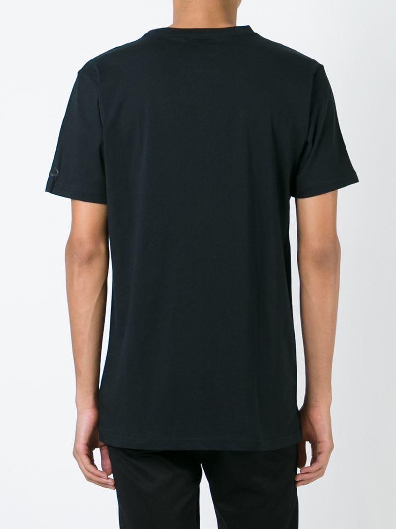 Lyst Puma Round Neck T Shirt In Black For Men