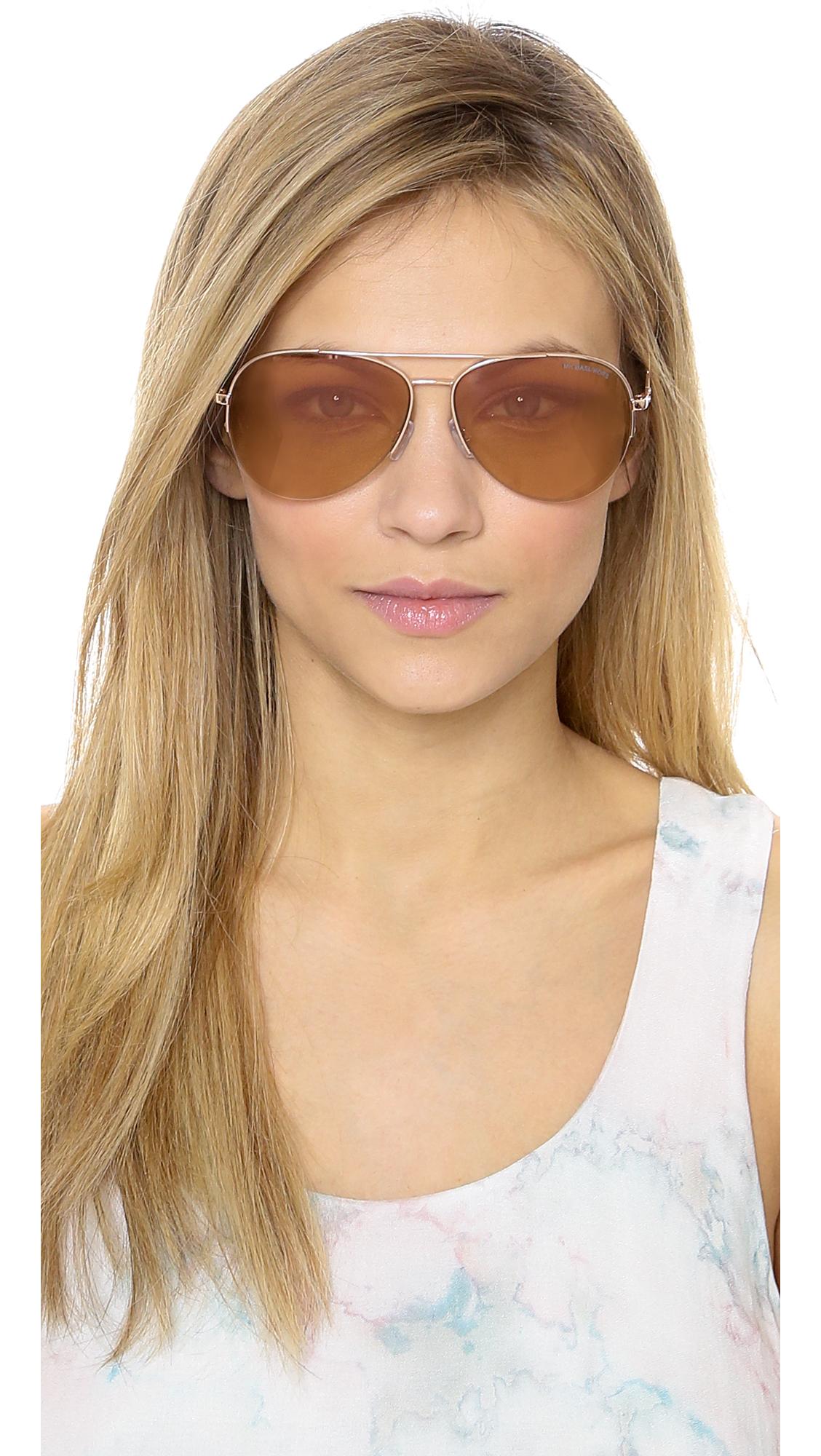 b3261c30c3 Michael Kors Chelsea Sunglasses Rose Gold