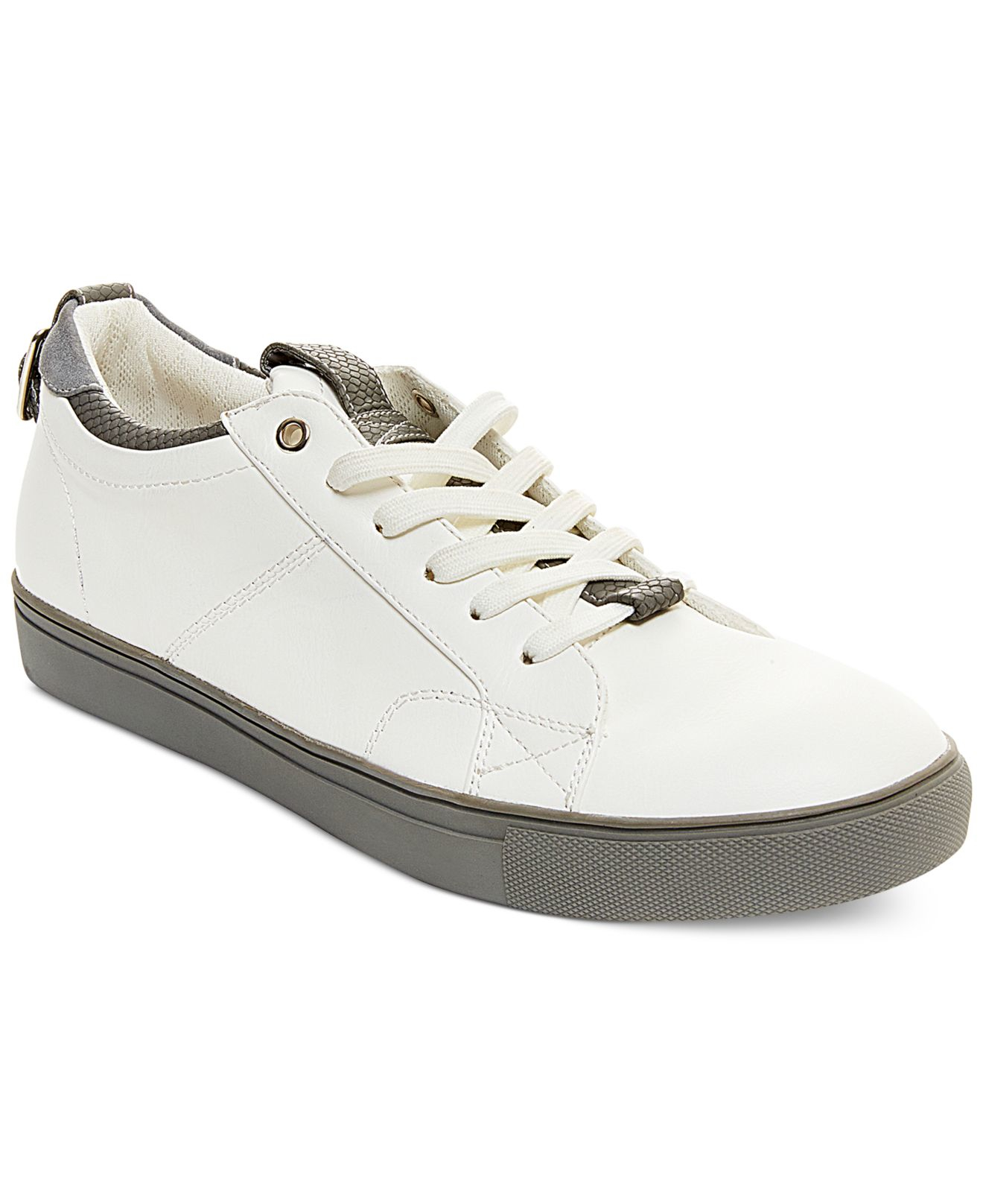 steve madden copter sneakers in white for lyst