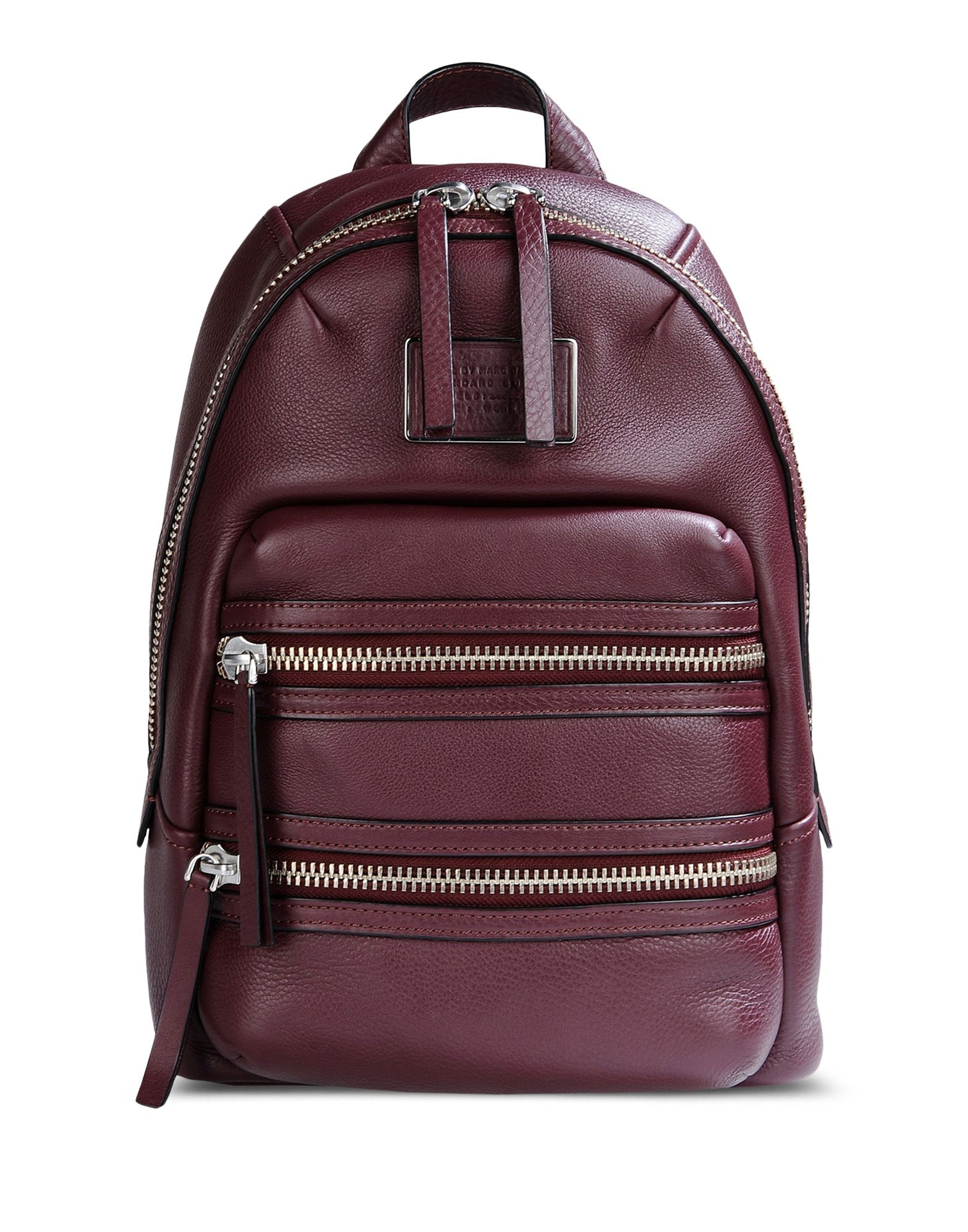 marc by marc jacobs rucksack in purple maroon lyst. Black Bedroom Furniture Sets. Home Design Ideas