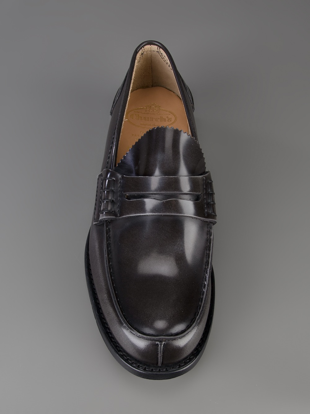 363672a1a09 Lyst - Church s Tunbridge Loafer in Black for Men