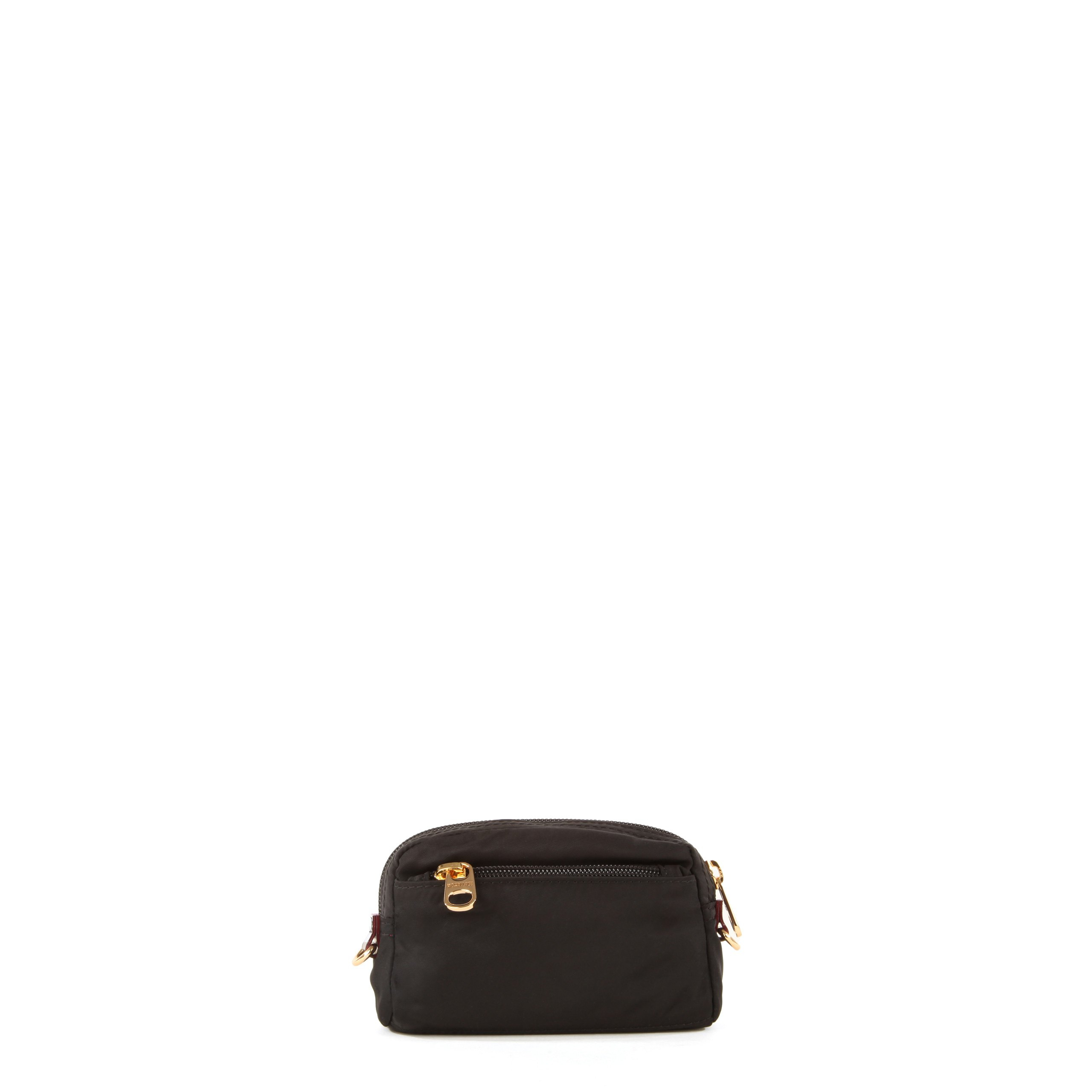 Lyst - MZ Wallace Small Savoy Cosmetic Black Bedford in Black 62018e67ab312