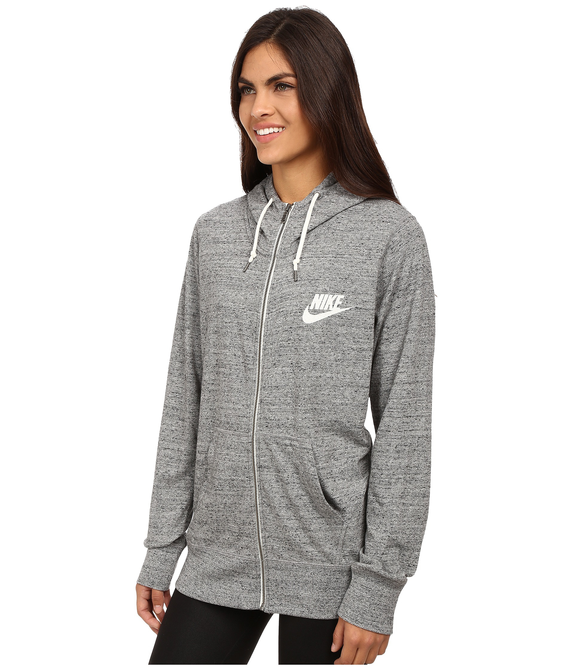 6ae62a529c68 Lyst - Nike Gym Vintage Full-zip Hoodie in Black