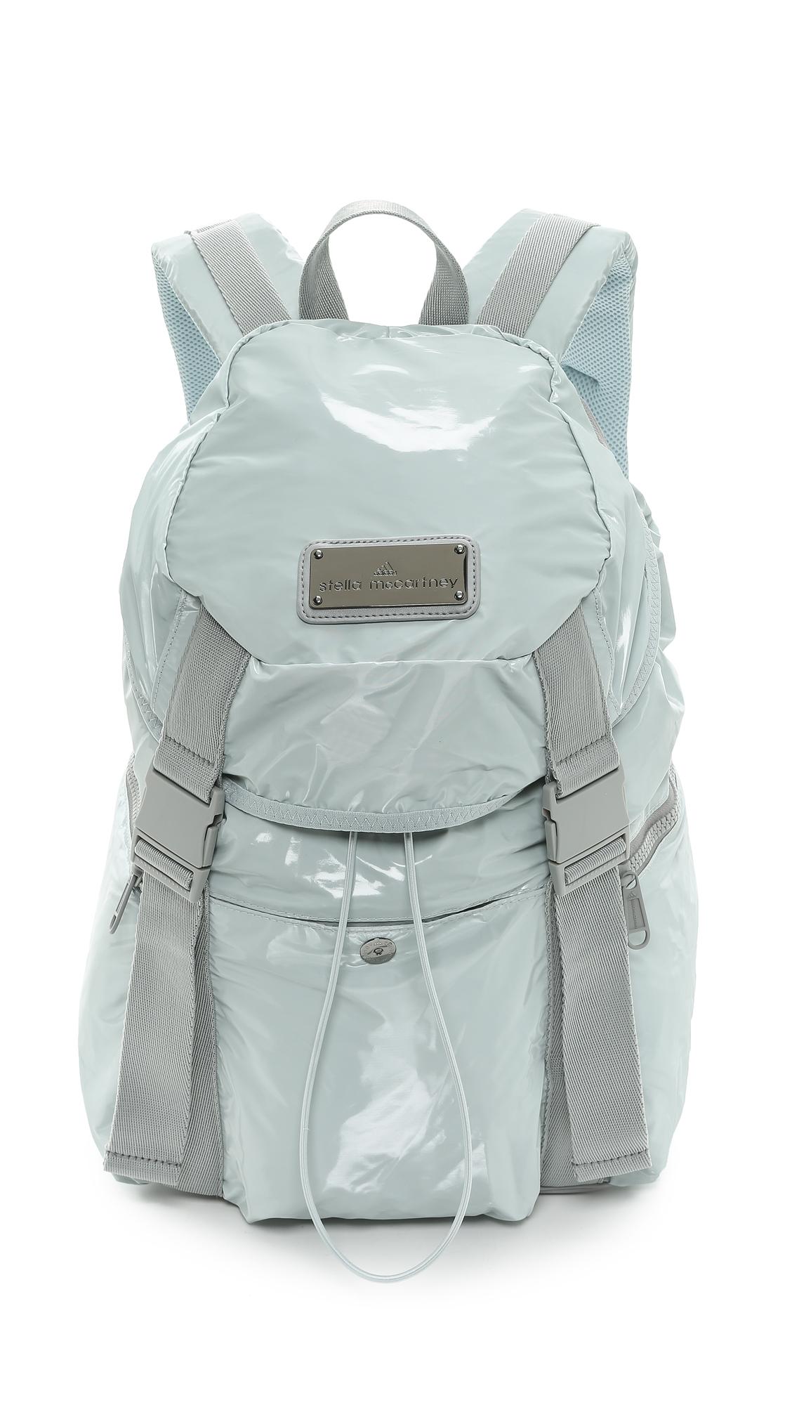 3f7f0daacef2 Lyst - adidas By Stella McCartney Weekender Backpack - Eggshell in Blue
