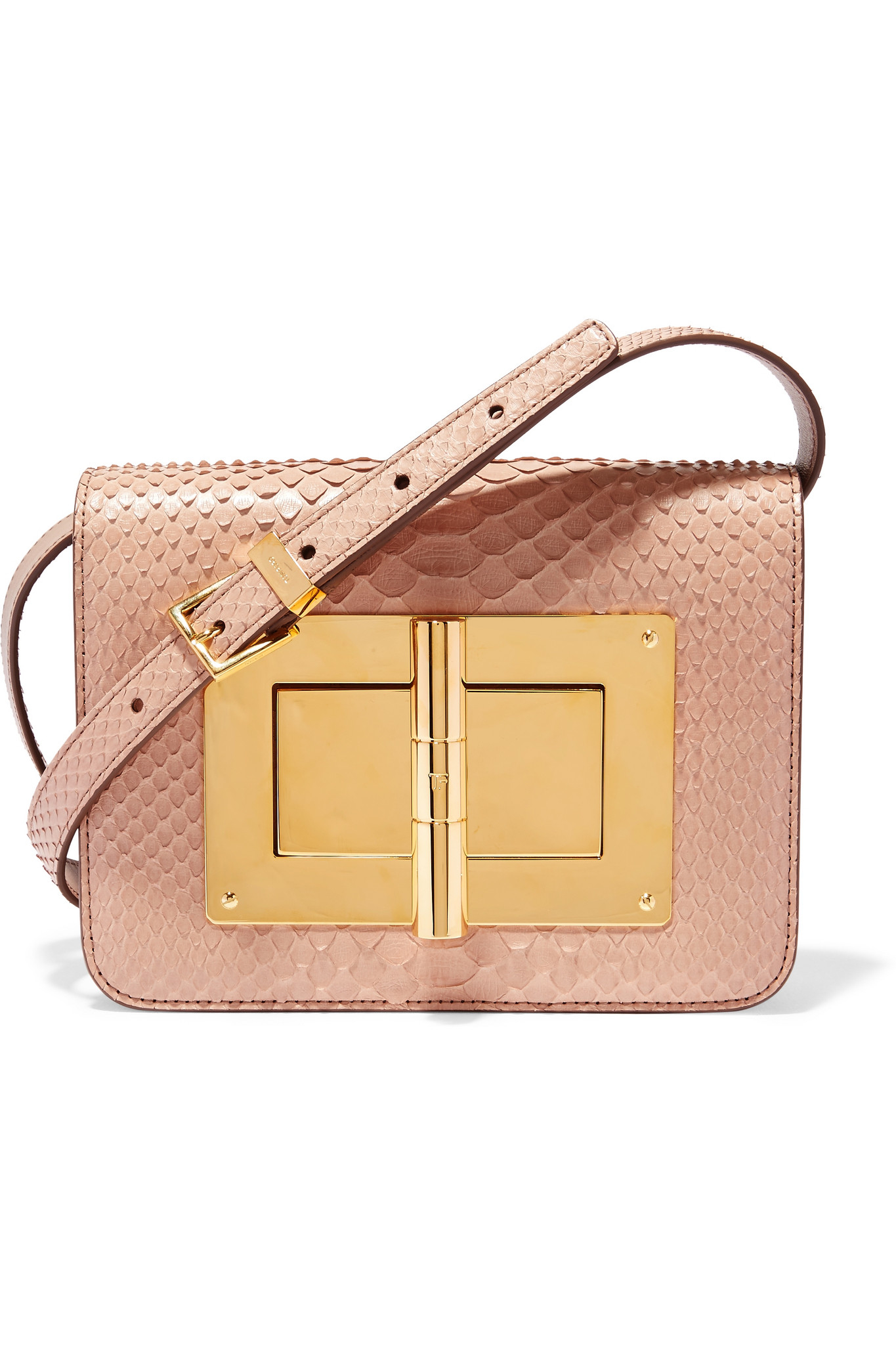 7f3510c9f94d Tom Ford Natalia Small Python Shoulder Bag in Pink - Lyst