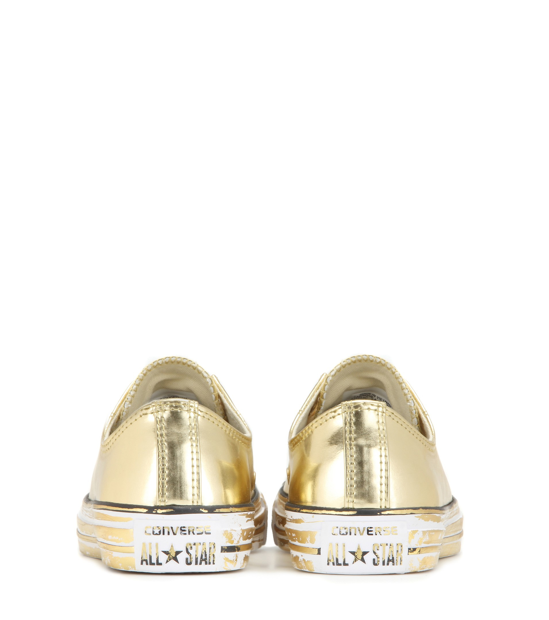 Metallic Gold Sneakers Women S Shoes