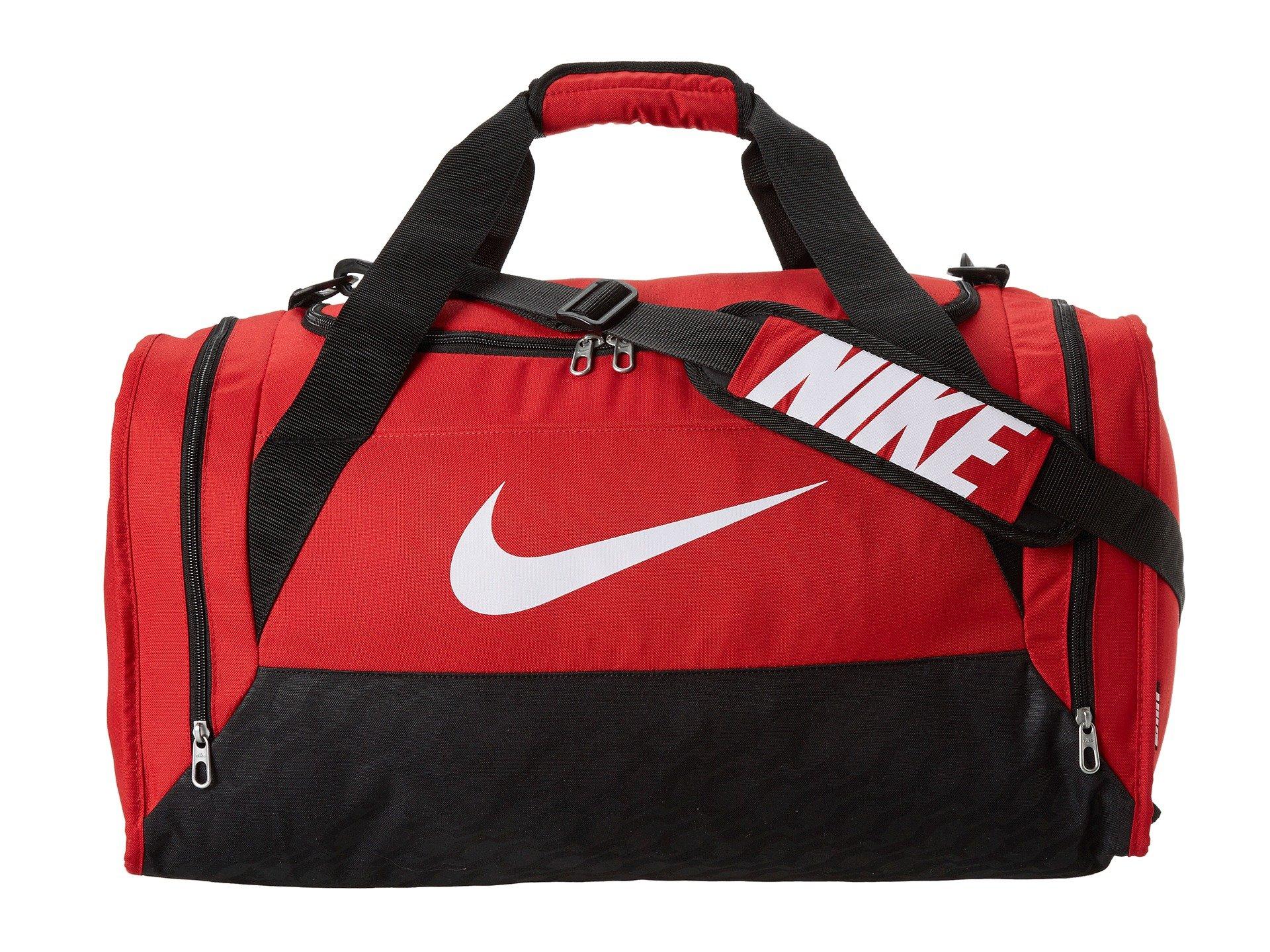 48cc4993c2 Lyst - Nike Brasilia 6 Medium Duffel in Red