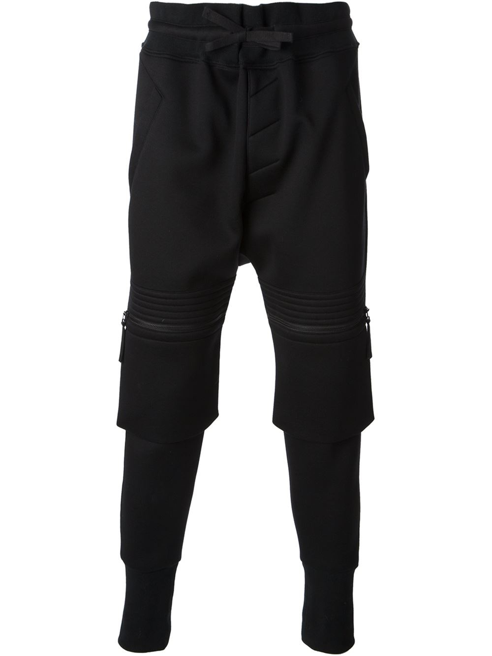 Helmut lang Cargo Track Pants in Black for Men | Lyst