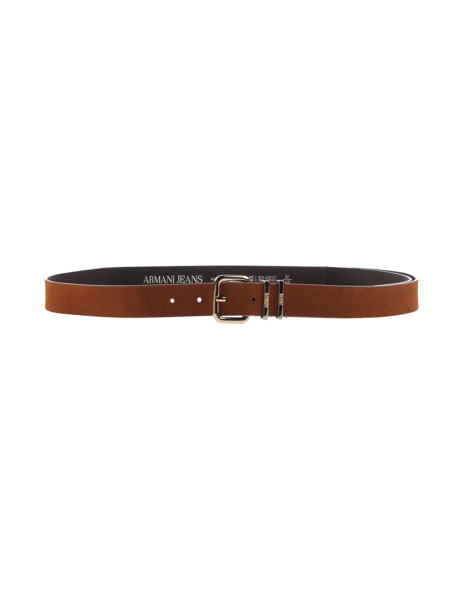 armani belt in brown for save 53 lyst