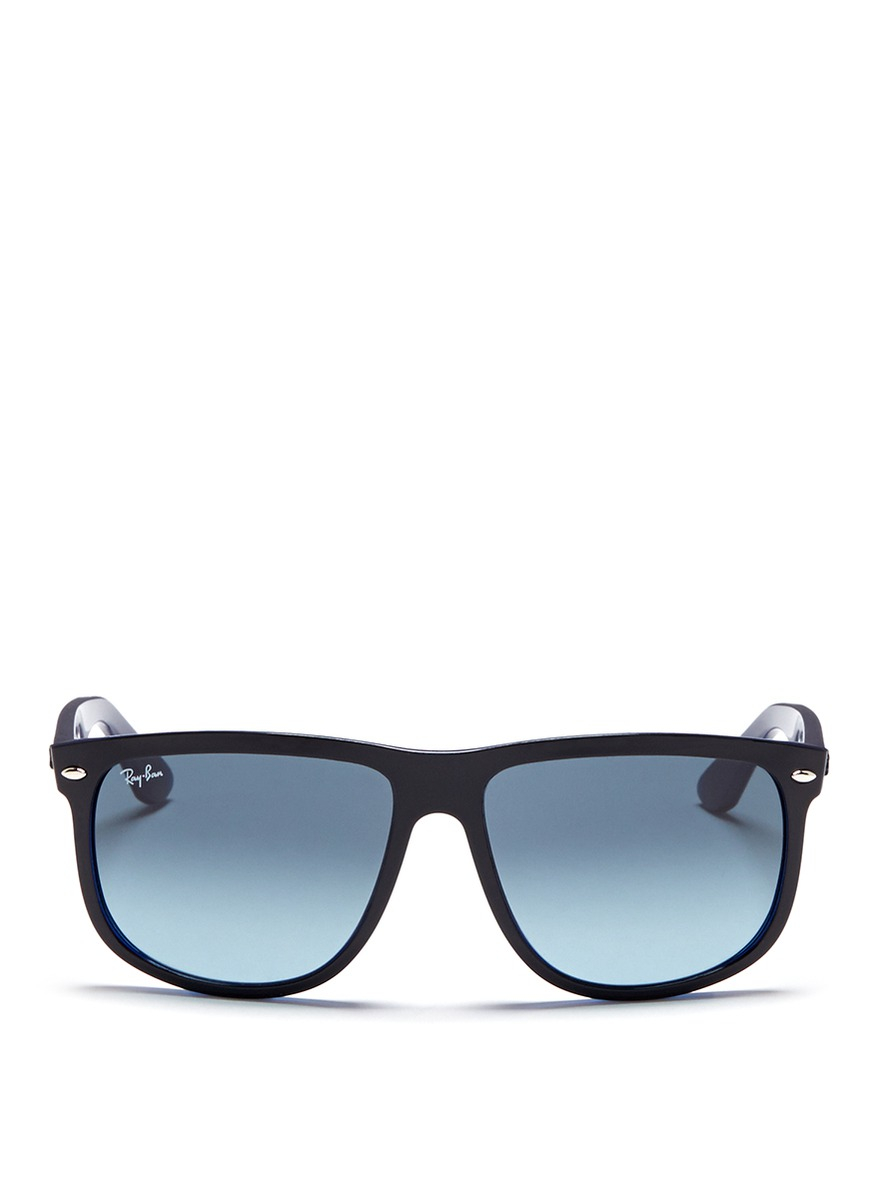 Ray-ban rb4147 Large Square Frame Acetate Sunglasses in ...