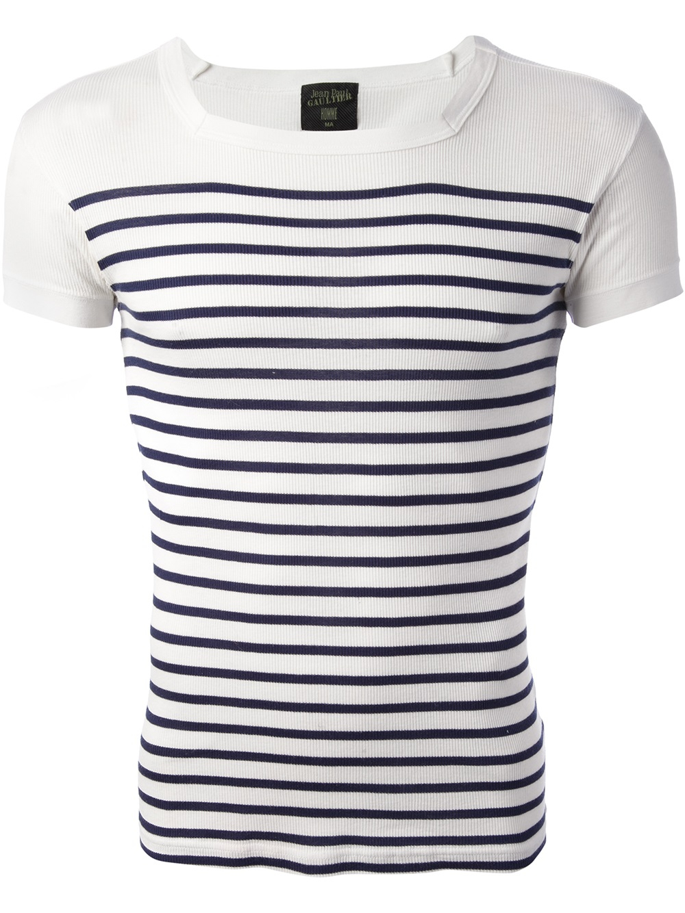 jean paul gaultier matelot tshirt in blue for men lyst