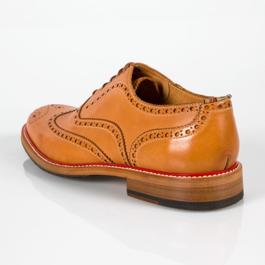 Paul Smith Shoes Blue Red