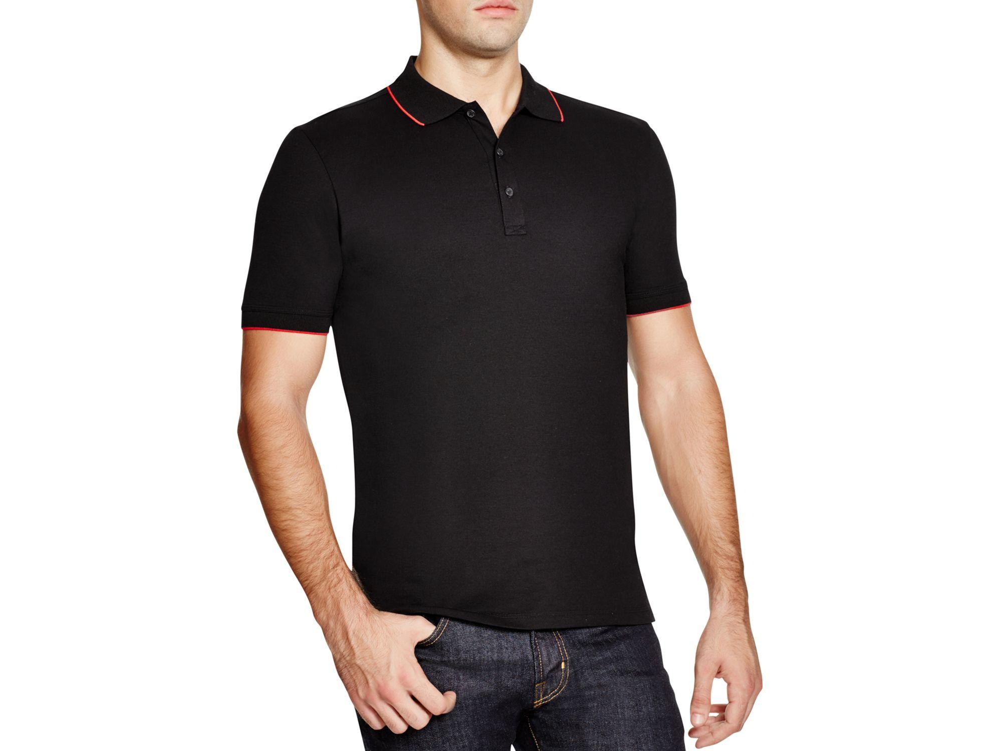 0daf403a15812 Black Hugo Boss Polo Shirt | Azərbaycan Dillər Universiteti