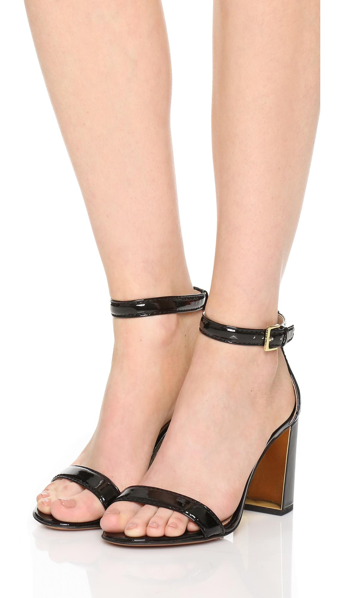 621c0645d9610 Lyst - Tory Burch Cecile Sandals in Black
