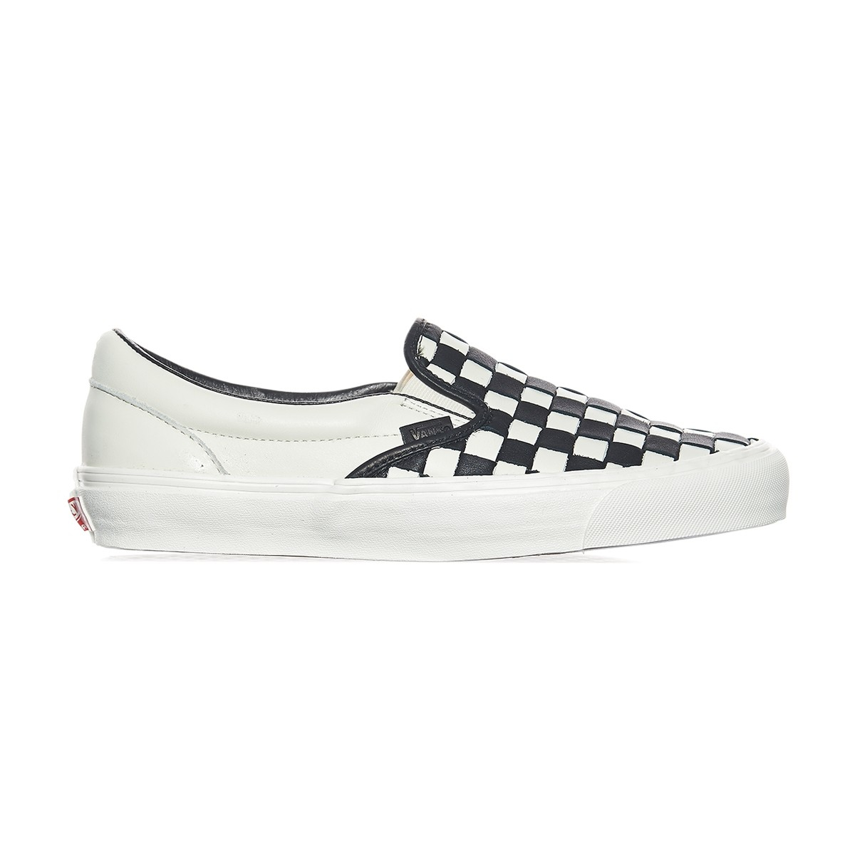 b57ce22f7a Lyst - Vans Og Classic Slip-on Lx 50th Checkerboard Anniversary ...