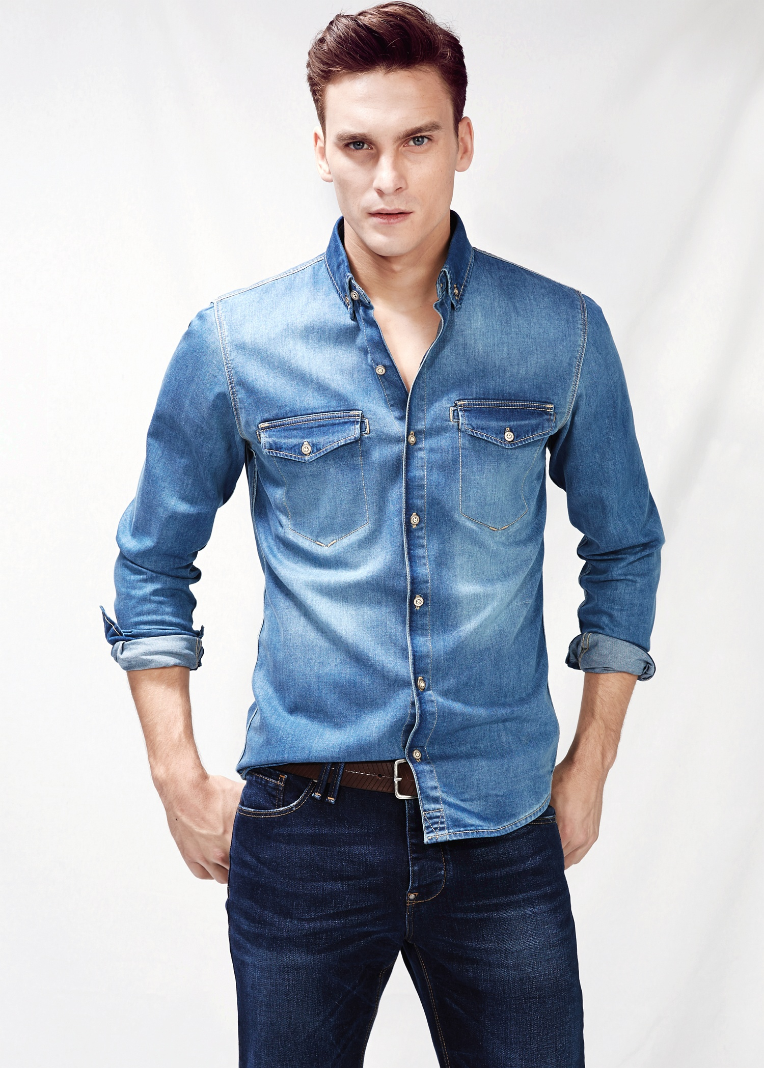 Free shipping and returns on Men's Denim Shirts at erawtoir.ga