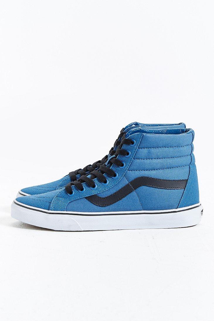 Lyst - Vans Sk8-hi Reissue Canvas Sneaker in Blue for Men 1d9d25368