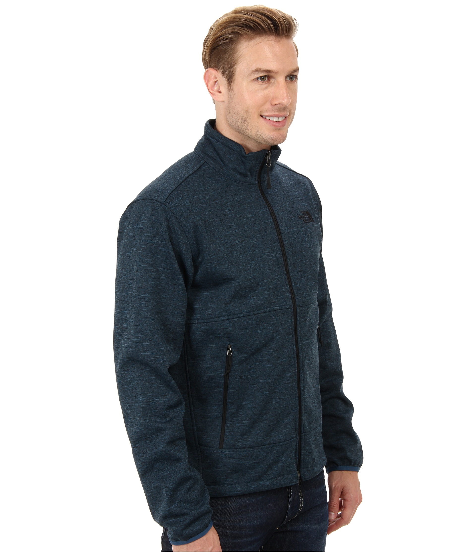 e372f942209f ... order lyst the north face canyonwall jacket in blue for men e5444 fb21a
