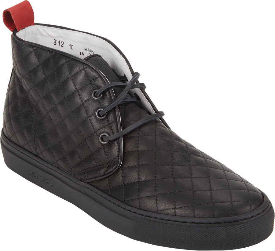 Del toro Quilted Chukka Sneakers in Black for Men   Lyst : del toro quilted chukka - Adamdwight.com