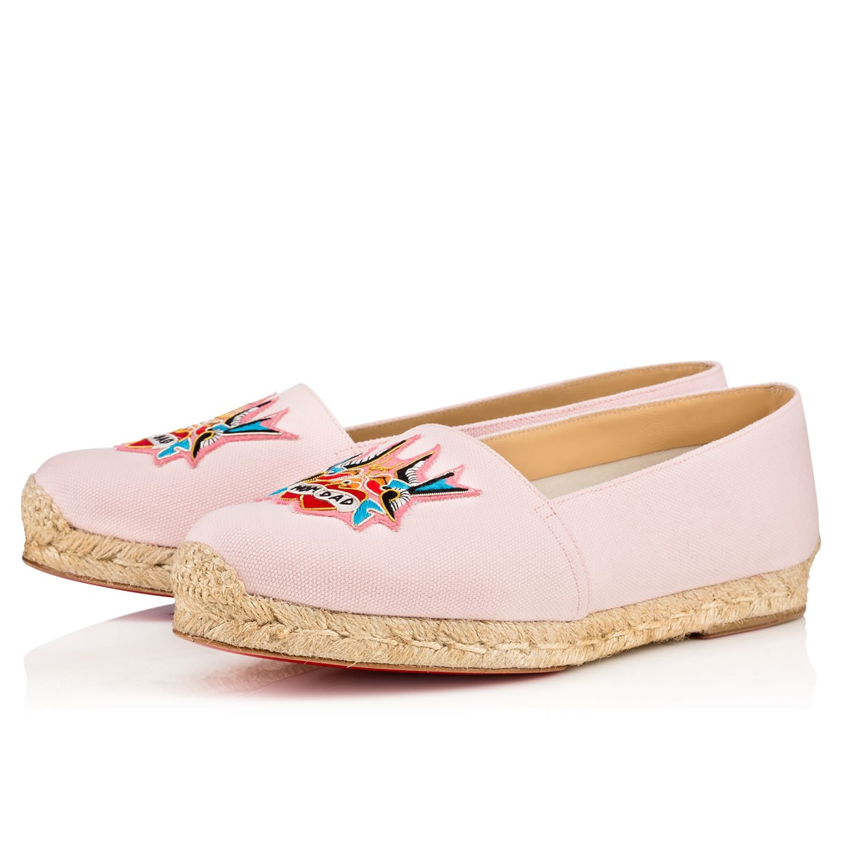 from china online great deals for sale Christian Louboutin Mom & Dad Espadrille Flats 100% original cheap price top quality cheap sale order D0Vn9Bmjp6