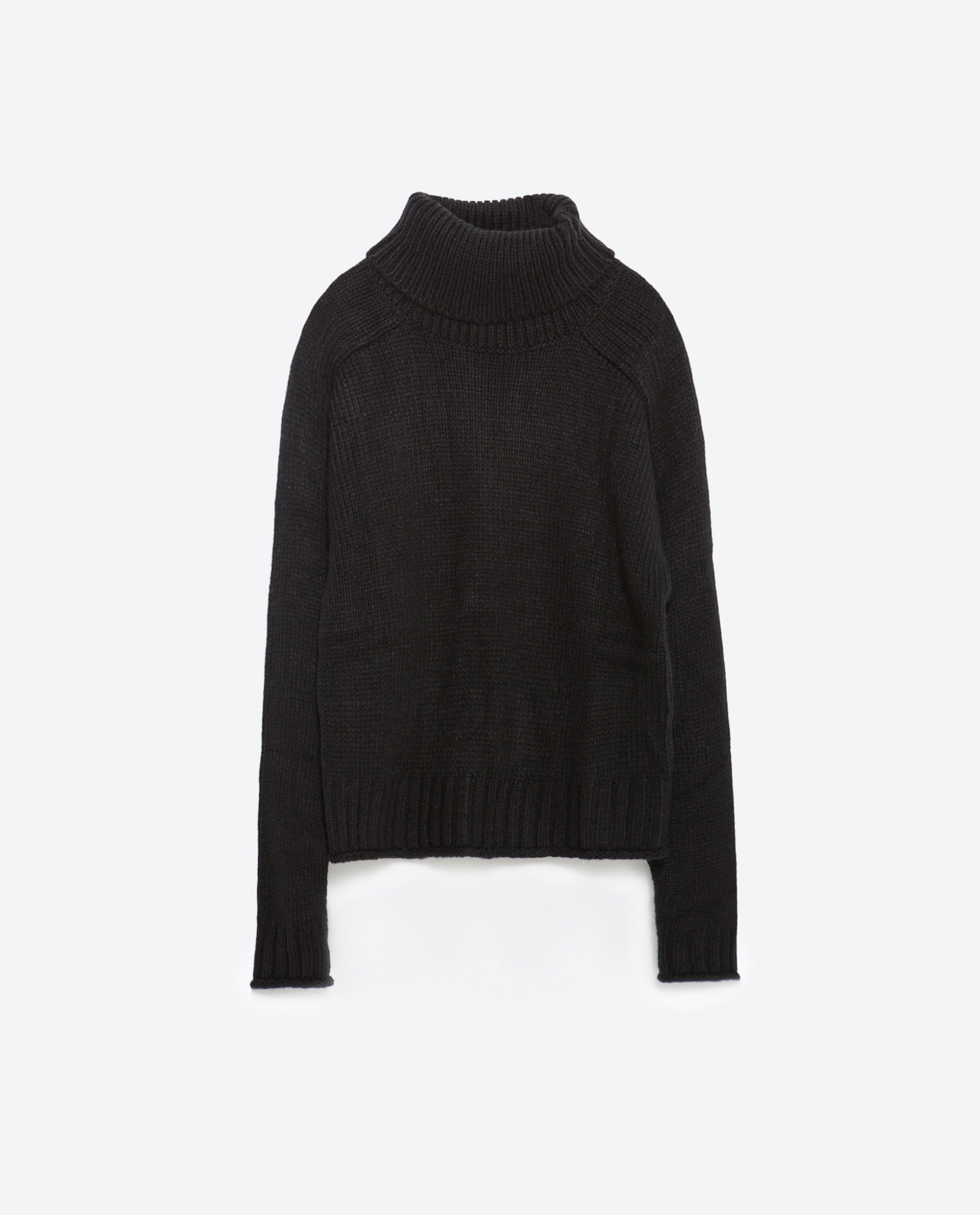 Zara Black High Neck Sweater 68