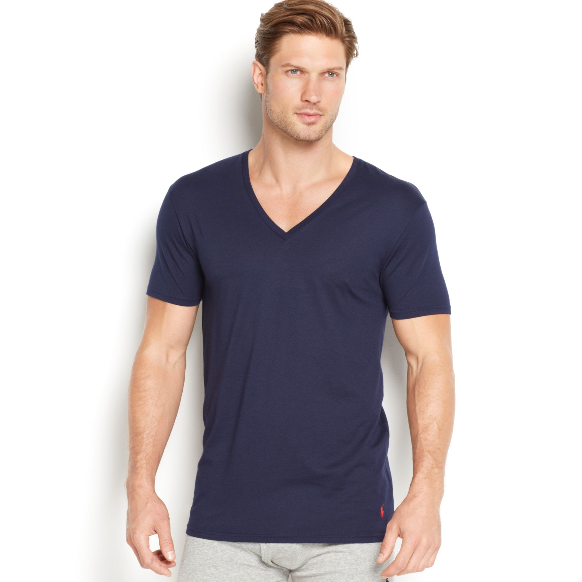 Polo Ralph Lauren Men 39 S Supreme Comfort V Neck T Shirt 2