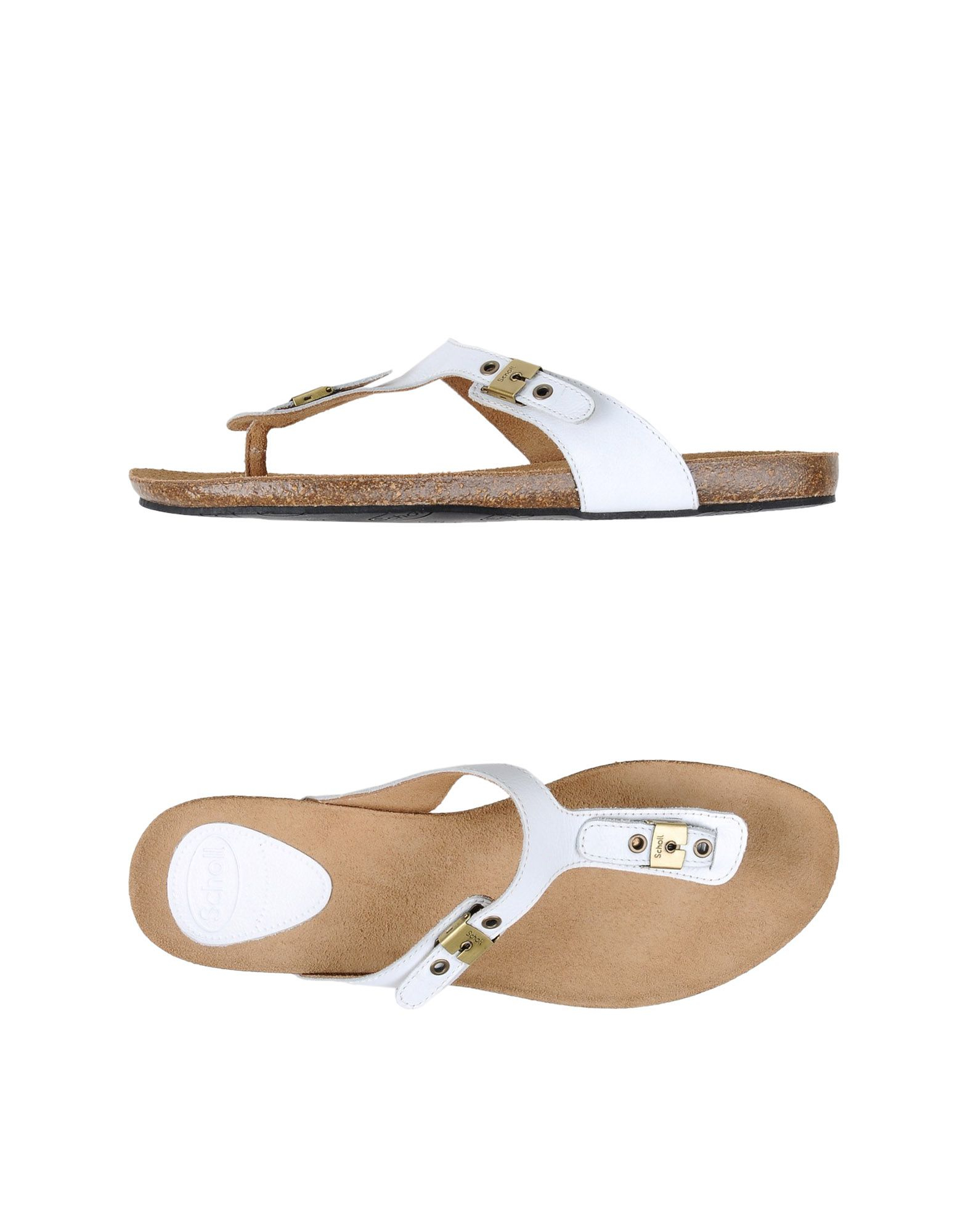 20972ef562f6 Lyst - Scholl Thong Sandal in White