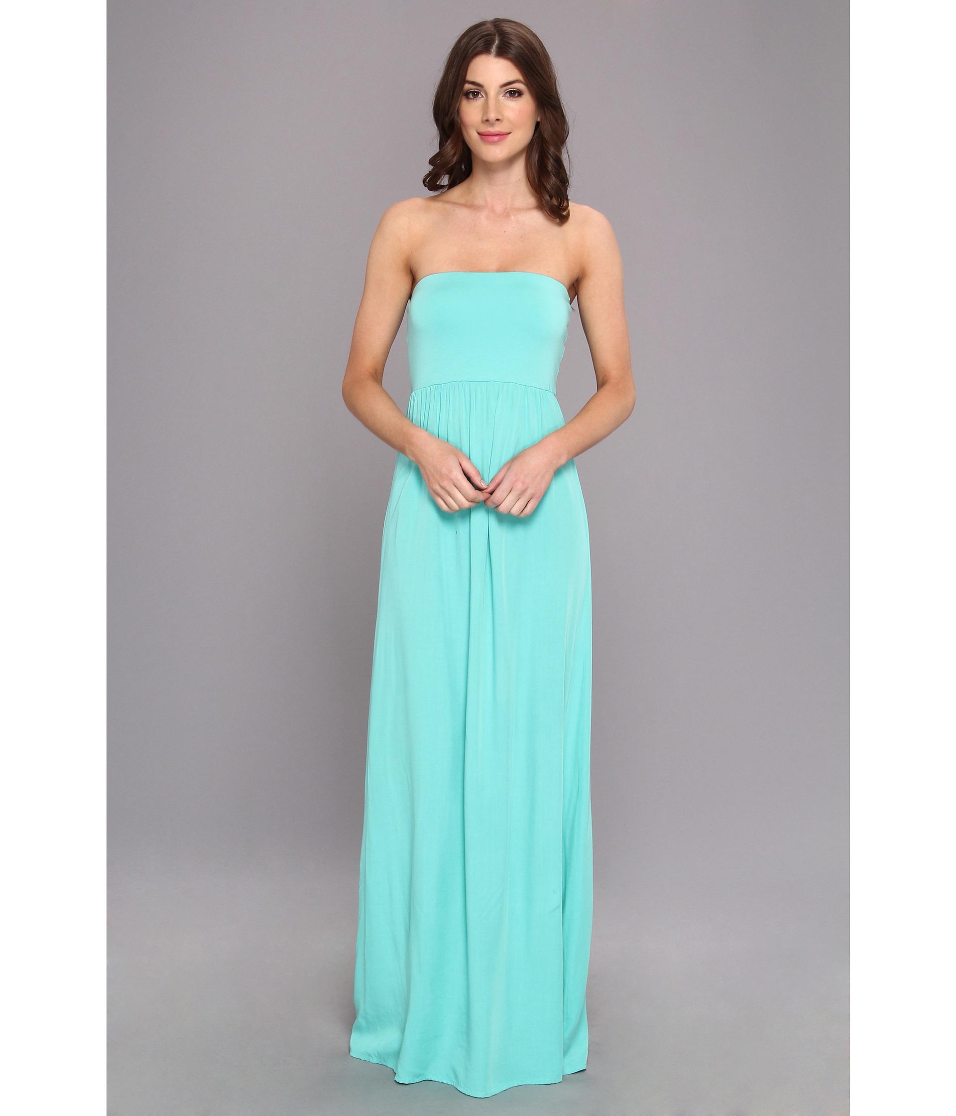 a8047f3062d Floral Tube Top Maxi Dress