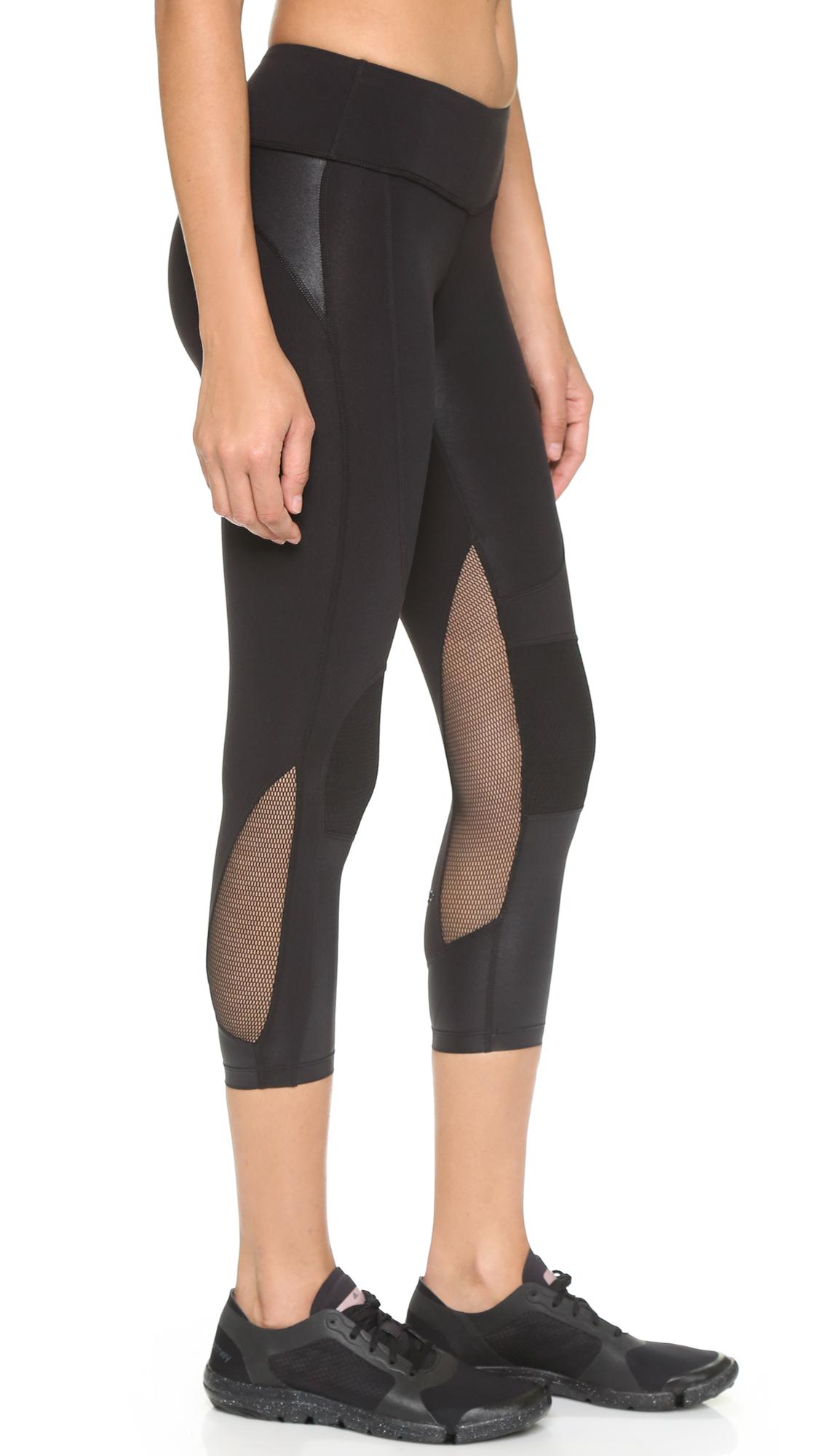 0edca3c6bcb45 Splits59 Matrix Noir Performance Capri Leggings - Black/eros/white in Black  - Lyst