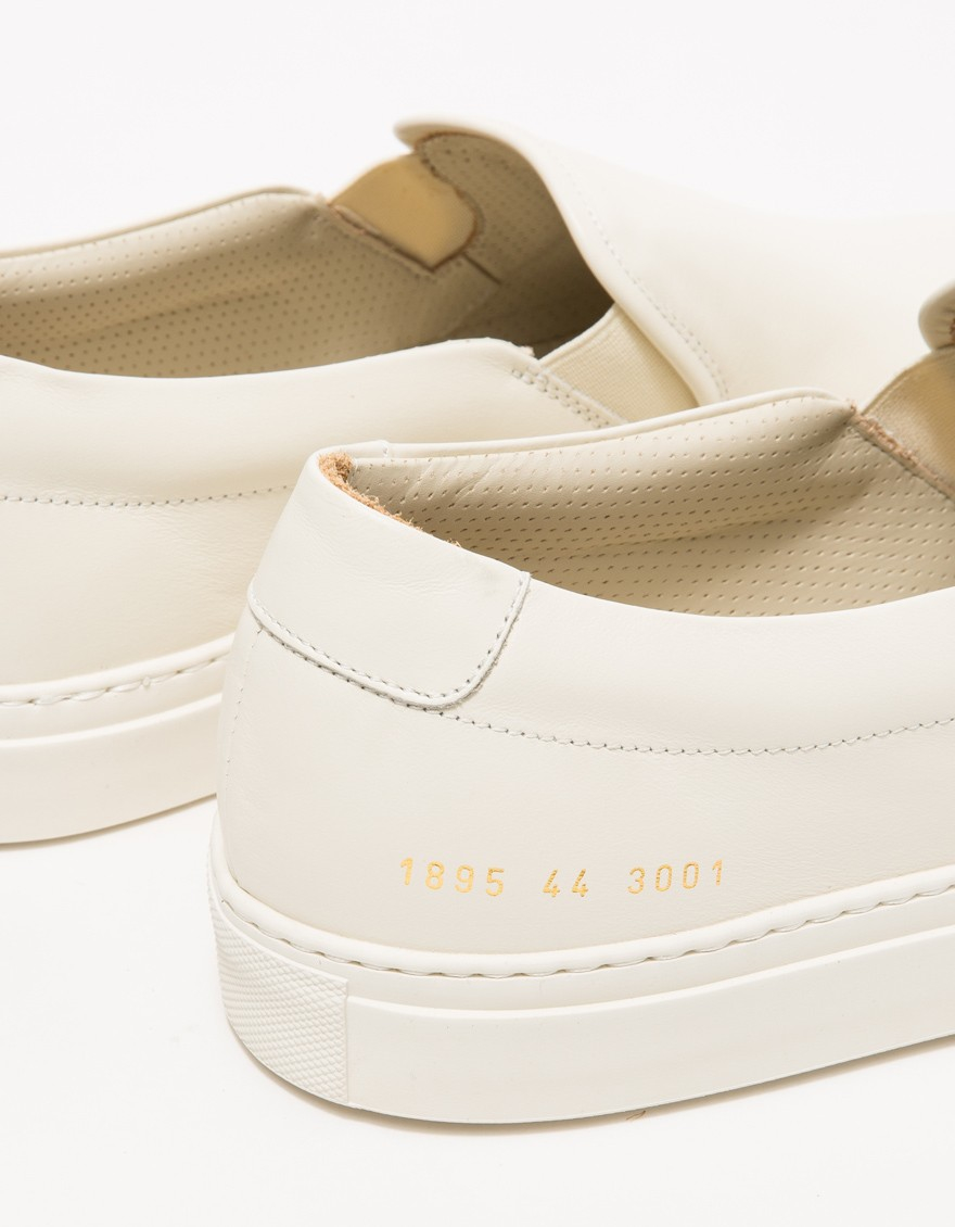 bdde21ec9d04 Lyst - Common Projects Slip On In Leather for Men