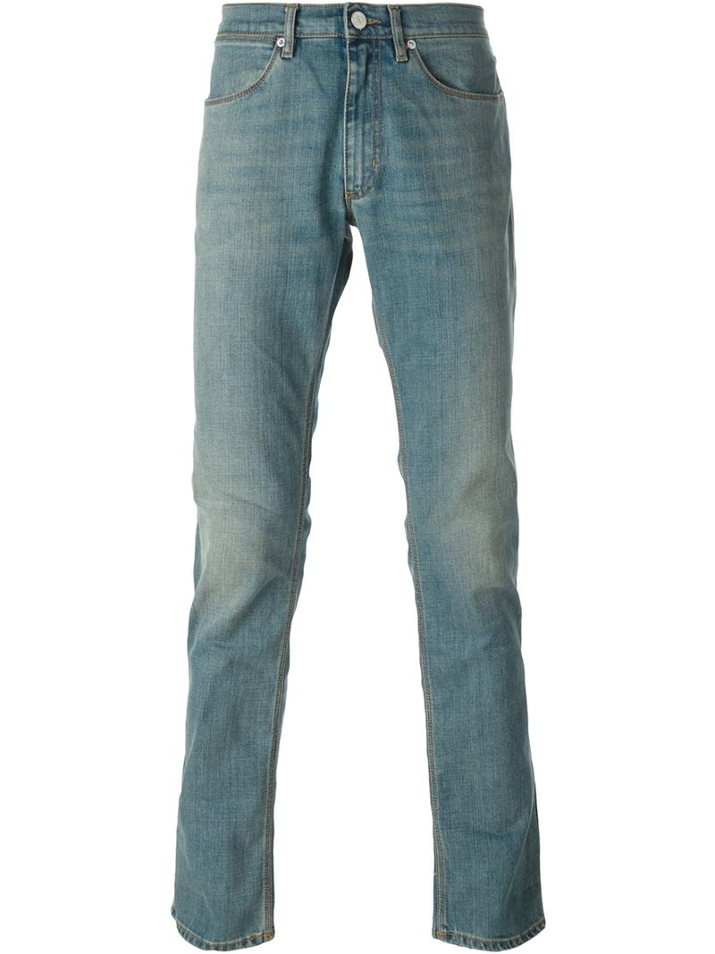 acne studios 39 max prince 39 jeans in blue for men lyst. Black Bedroom Furniture Sets. Home Design Ideas