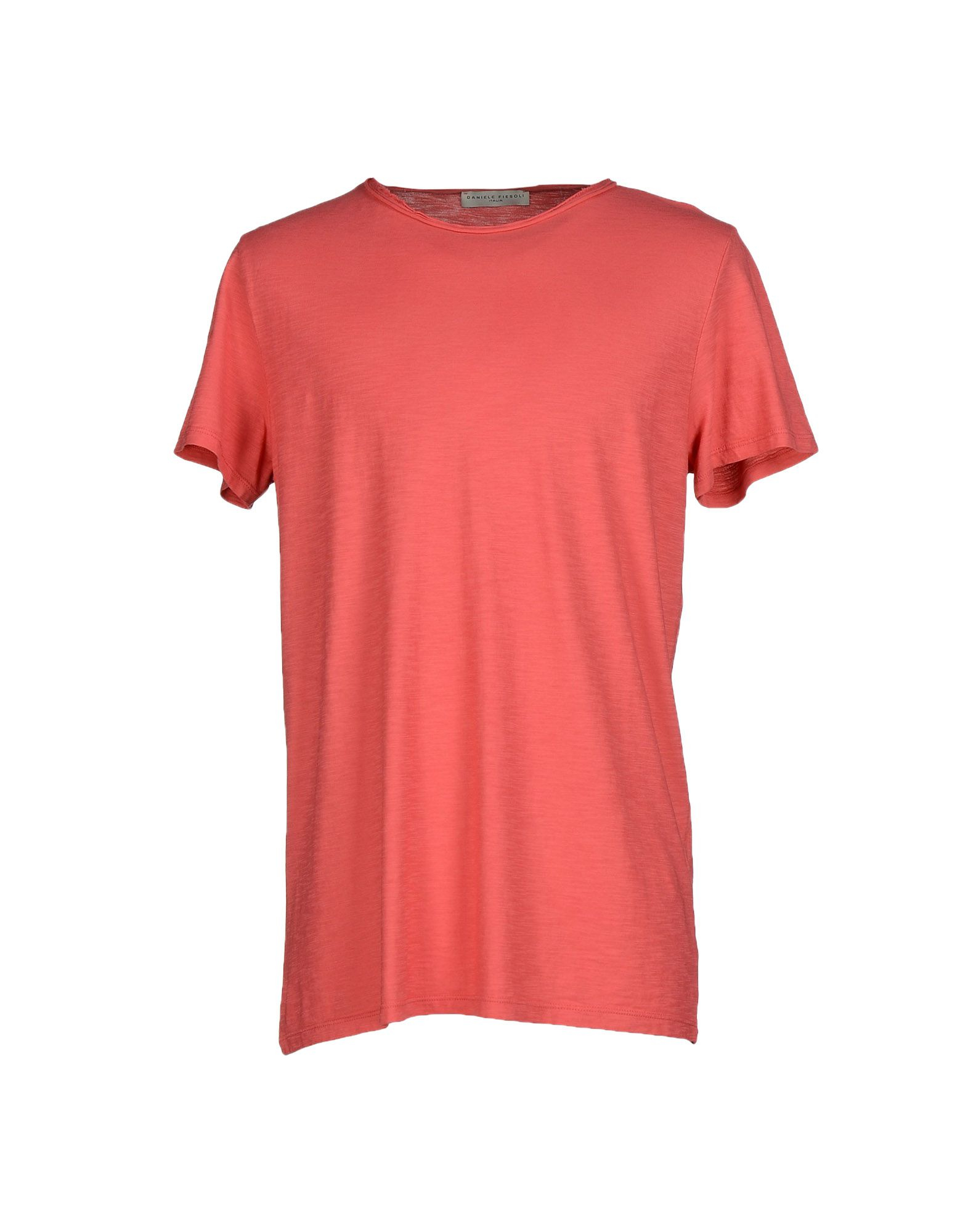 Daniele Fiesoli T Shirt In Pink For Men Coral Lyst