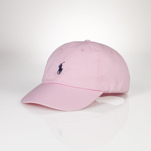 f9998813cc7dd Polo Ralph Lauren Signature Pony Cap in Pink for Men - Lyst