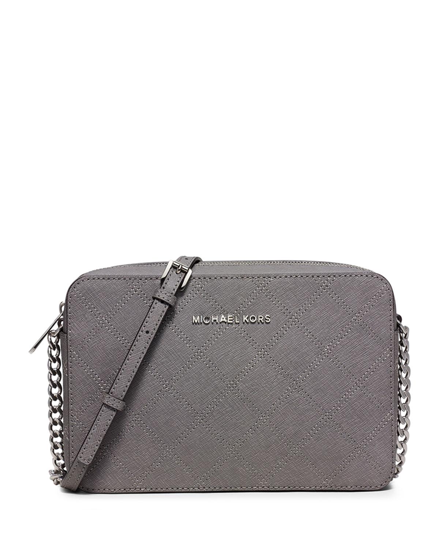 Michael Kors Small Leather Satchel Gray a9d98d2d61