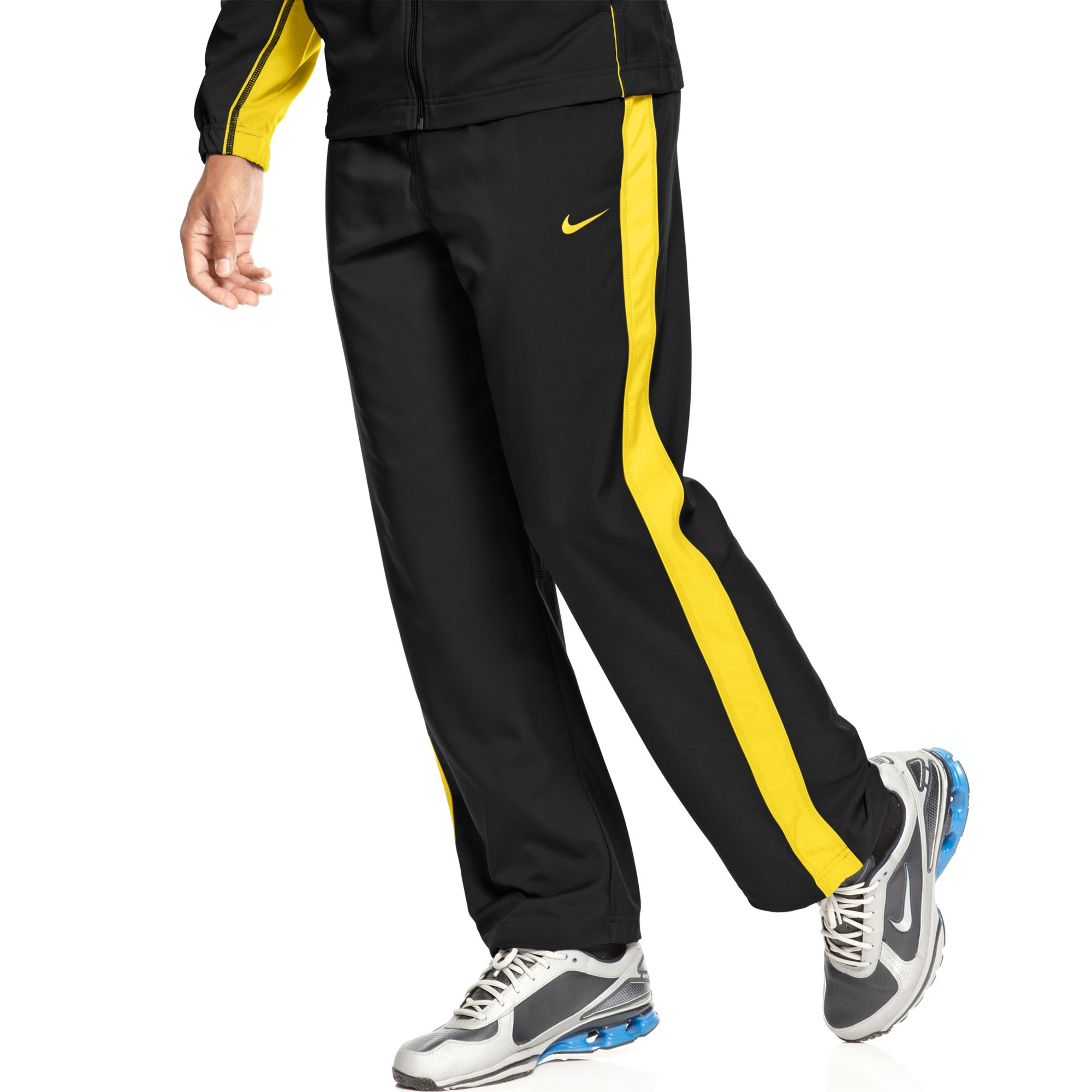 af36347404cb Lyst - Nike Team Track Pants in Black for Men