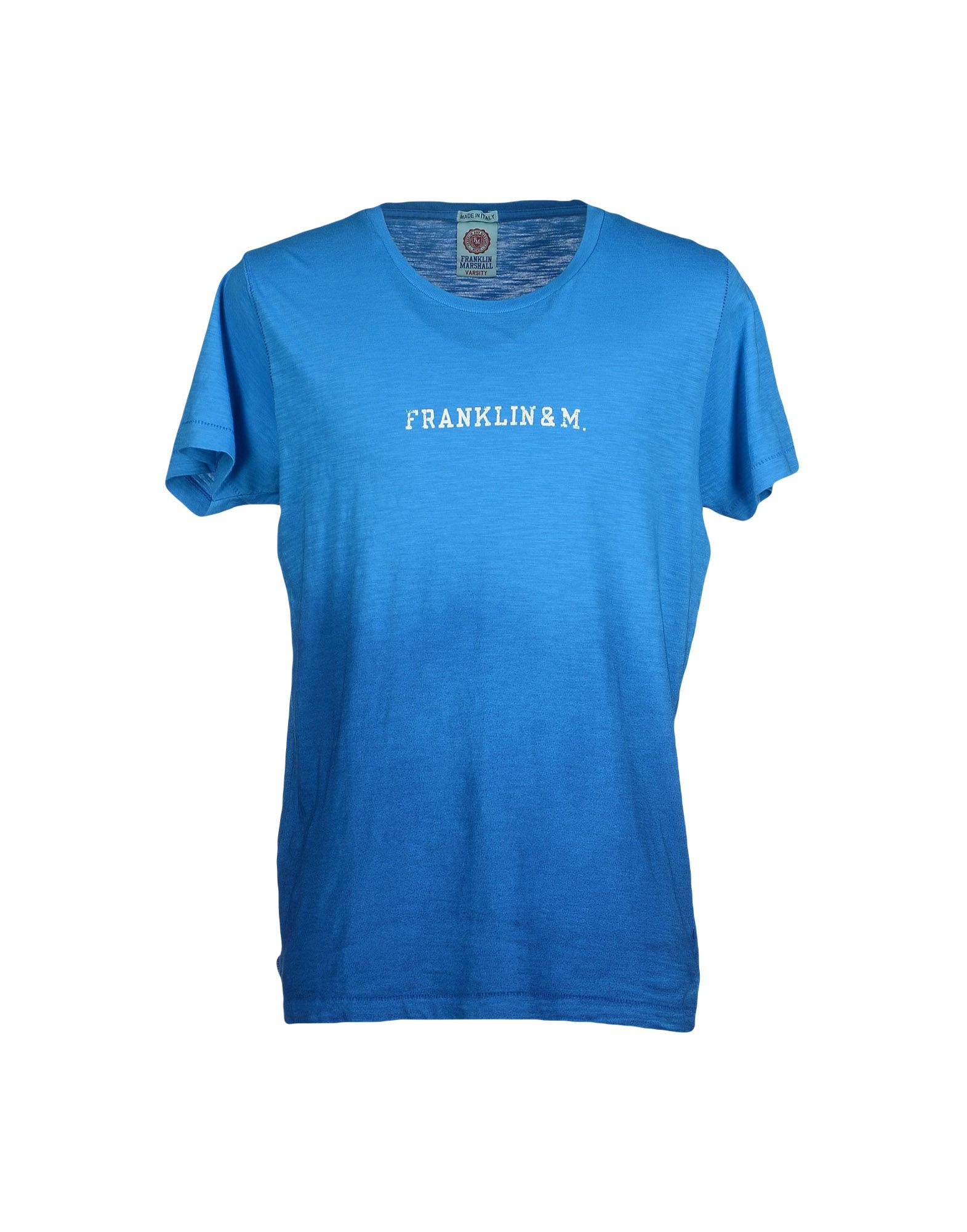 Franklin Marshall T Shirt In Blue For Men Lyst