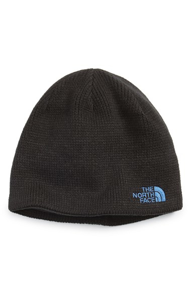 2c0bf85d8f2 Lyst - The North Face  bones  Microfleece Beanie in Blue for Men