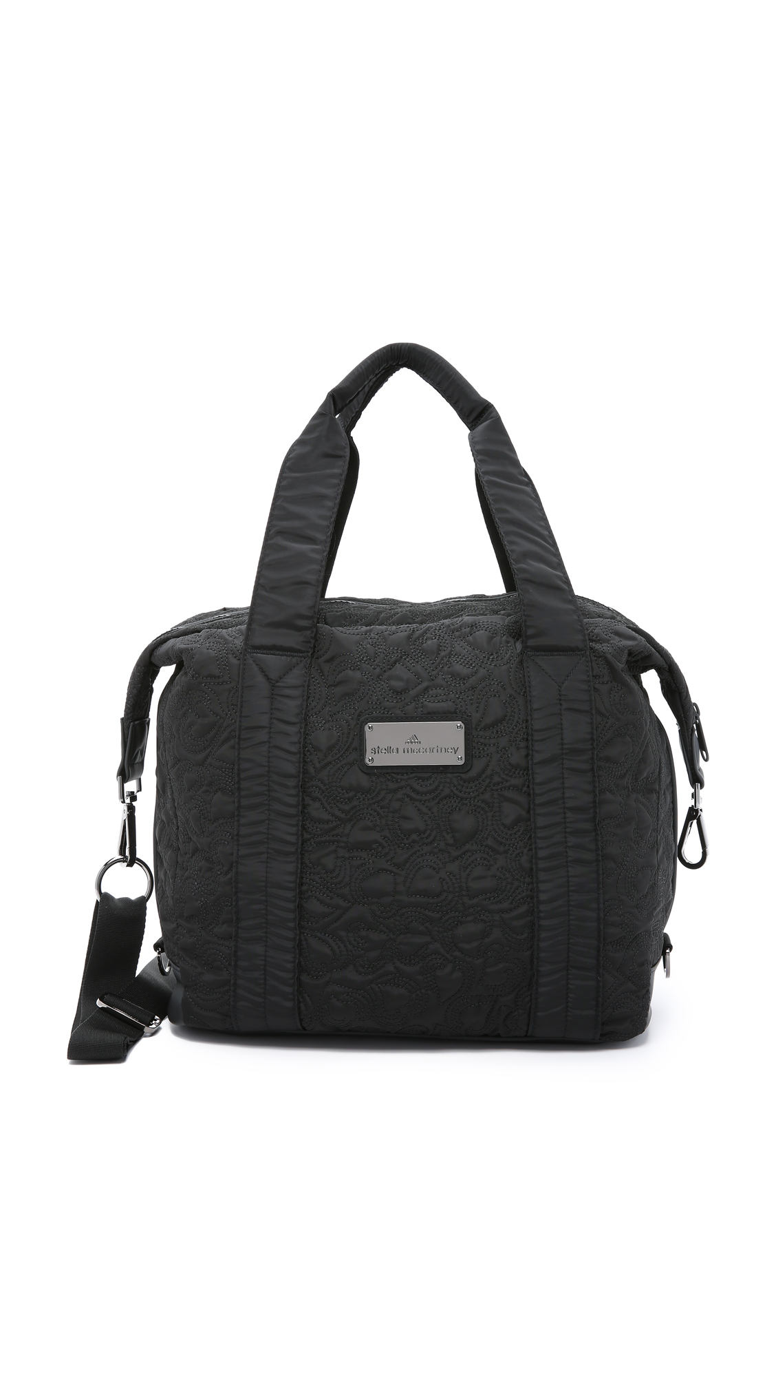 adidas By Stella McCartney Small Gym Bag - Black in Black - Lyst 1a43485f1bdb6