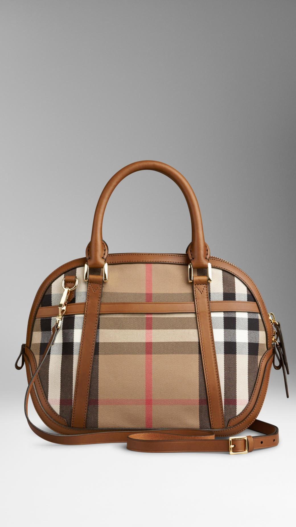 582af9cecfd6 Lyst - Burberry The Small Orchard In House Check in Brown