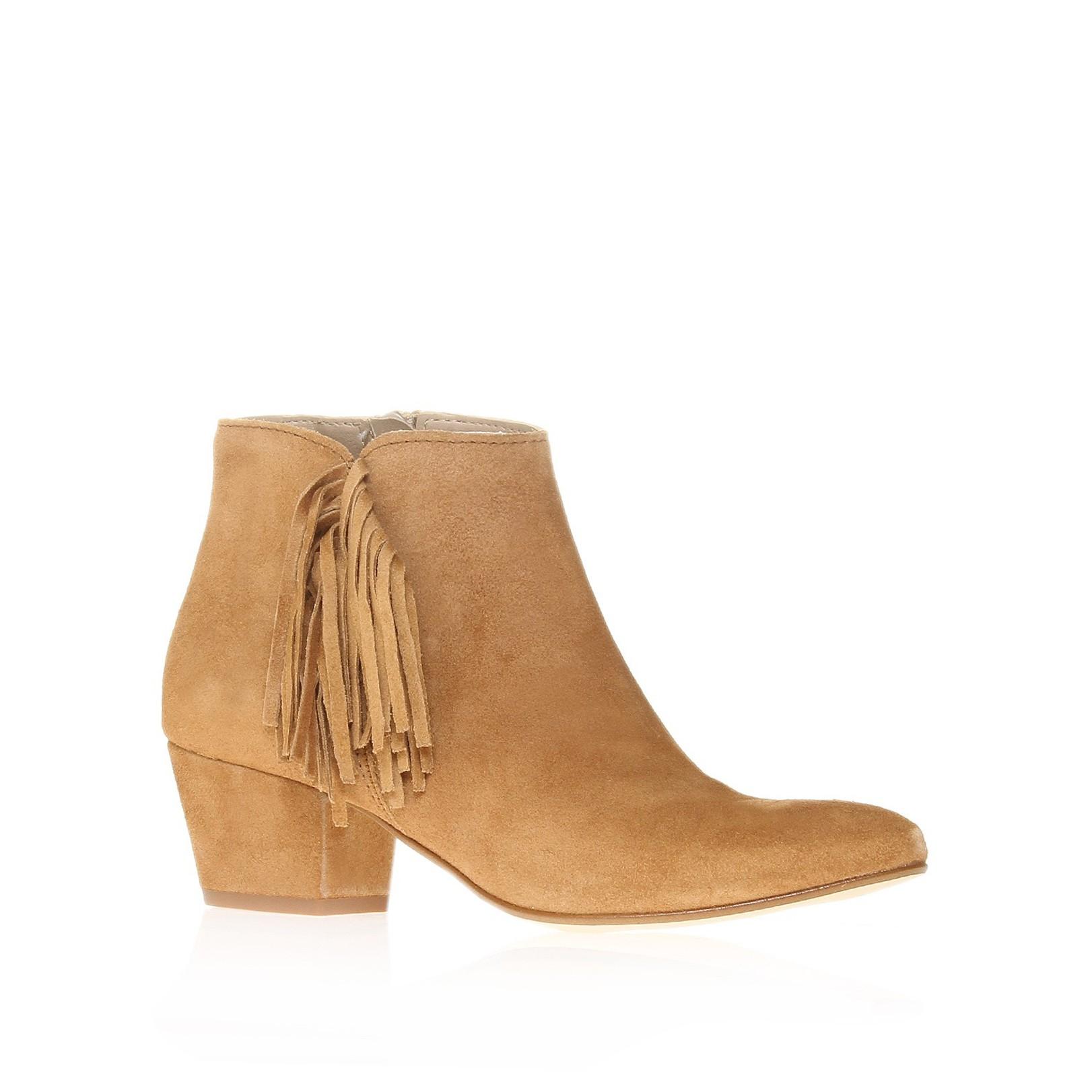 carvela kurt geiger ankle boots in brown lyst