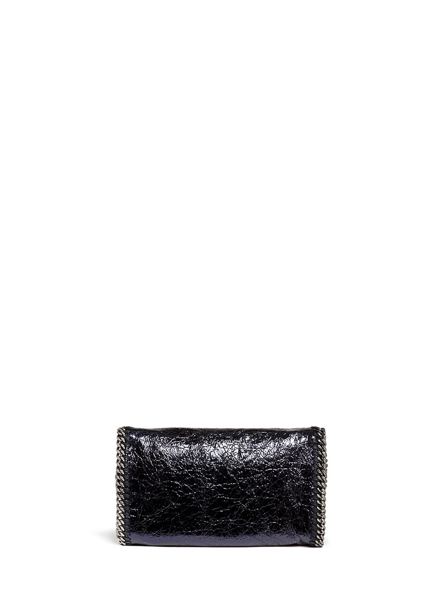 Mccartney Womens Cross Body Falabella Bag In Black In Black Lyst