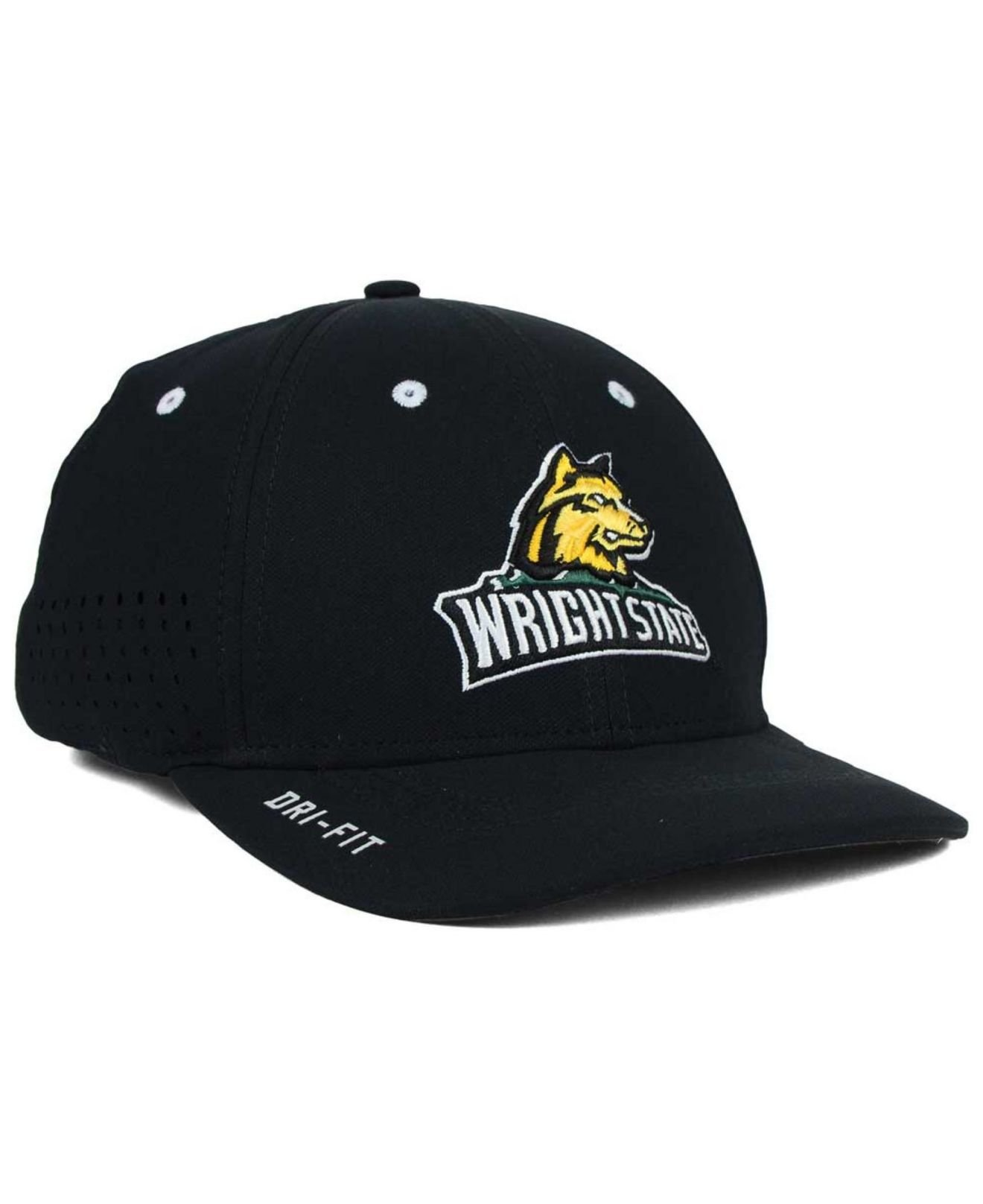 94b1cc985 Lyst - Nike Wright State Raiders Sideline Cap in Black for Men