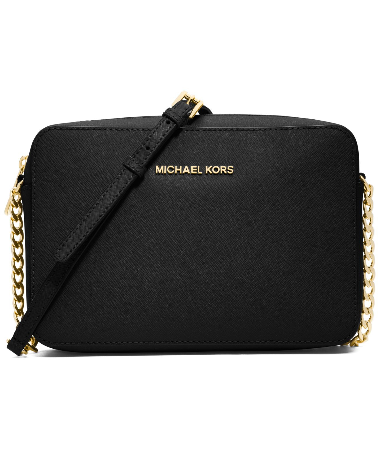michael kors michael jet set travel large crossbody in. Black Bedroom Furniture Sets. Home Design Ideas