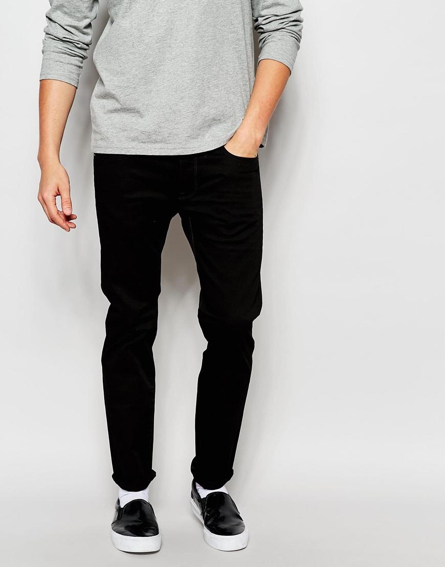 020b01bad52f Lyst - G-Star RAW Jeans 3301 Slim Fit Turner Black Stretch Raw in ...