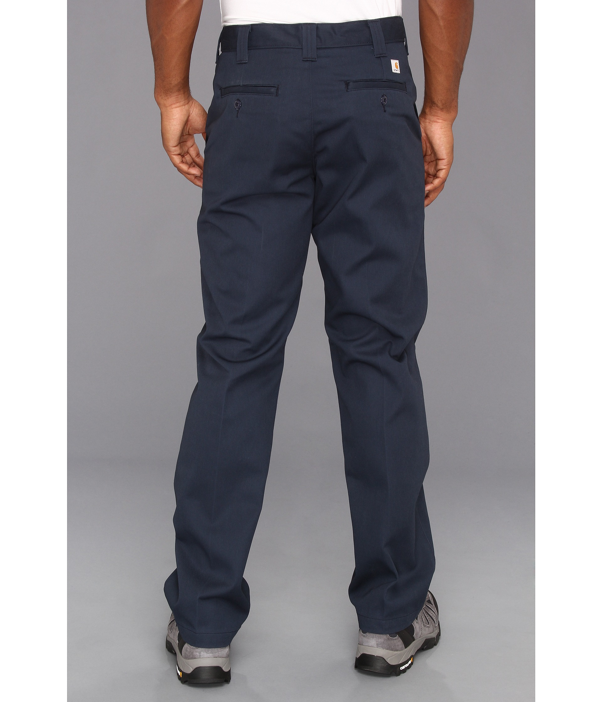 Carhartt Twill Work Pant in Blue for Men | Lyst