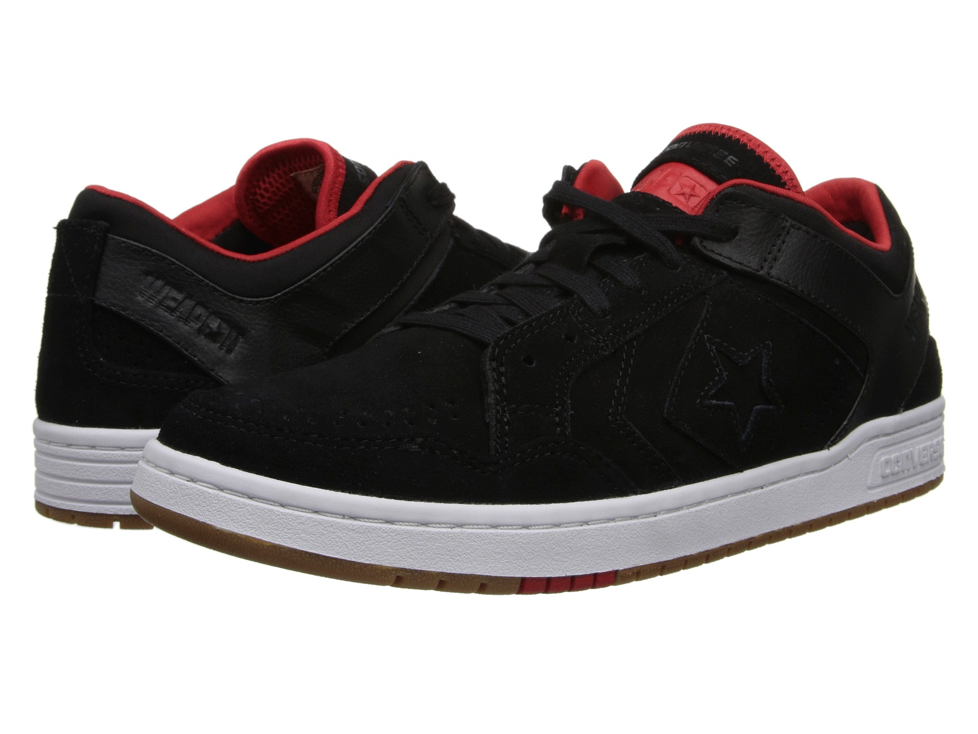 5d955faff201 Lyst - Converse Weapon 86 Skate in Red for Men