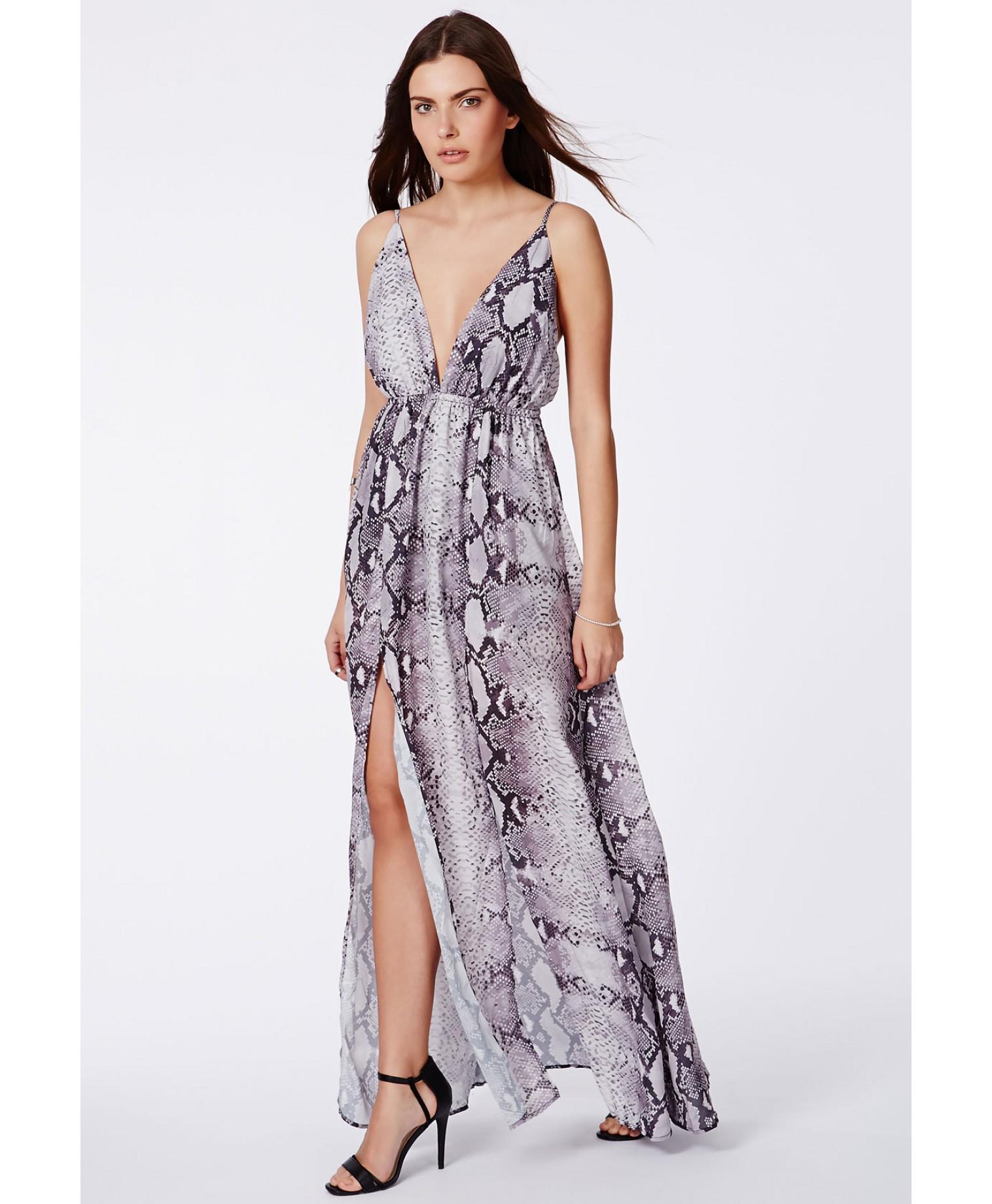 Snake Skin Cocktail Dresses