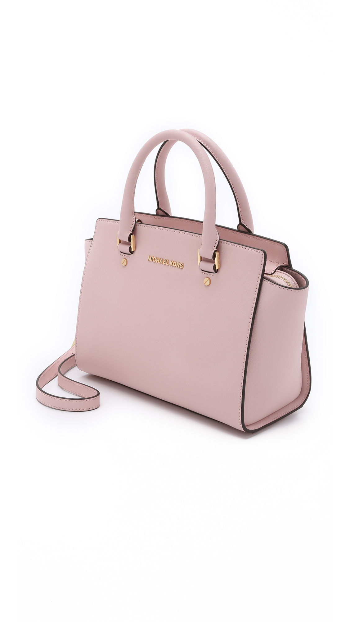 0a74e7d8b317 Previously sold at Shopbop · Womens Michael By Michael Kors Selma Michael  Kors - Selma Medium Top Zip Satchel in Blossom, ...